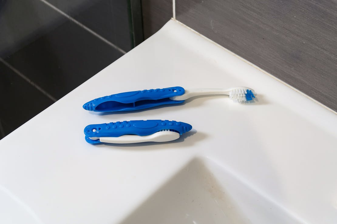 Travel Toothbrush In Valencia, Spain