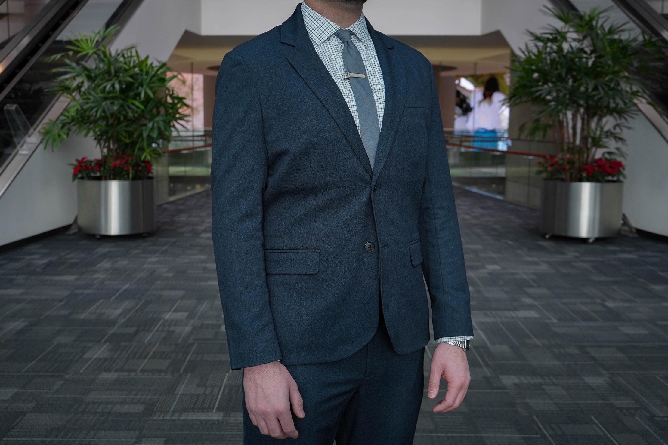 Bluffworks Gramercy Suit Blazer Fit