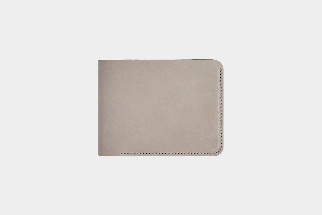 Baron Fig Slim Bifold Leather Wallet