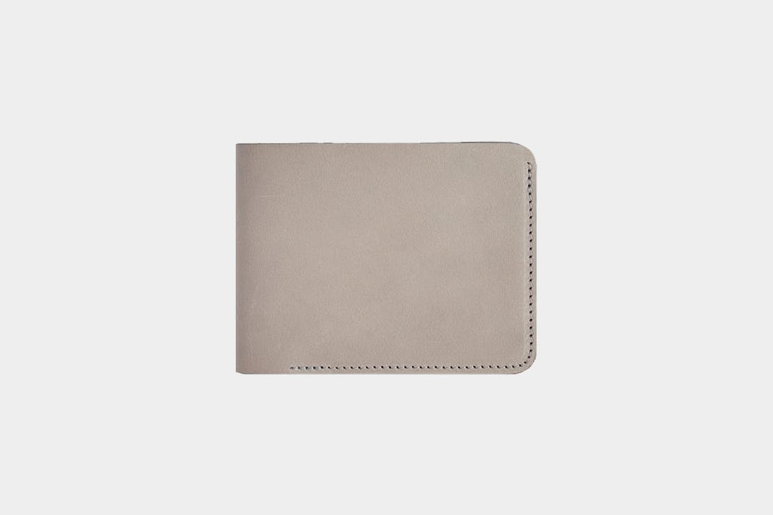 Baron Fig Slim Bifold Leather Wallet