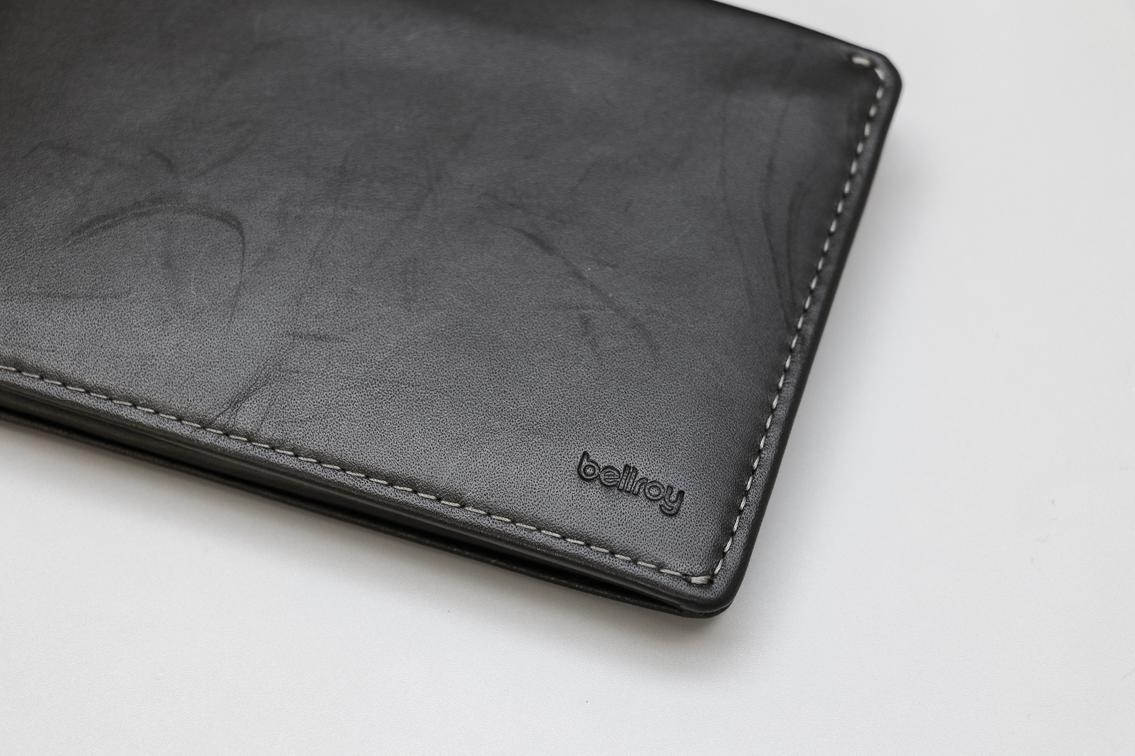 Bellroy Travel Wallet Logo And Leather