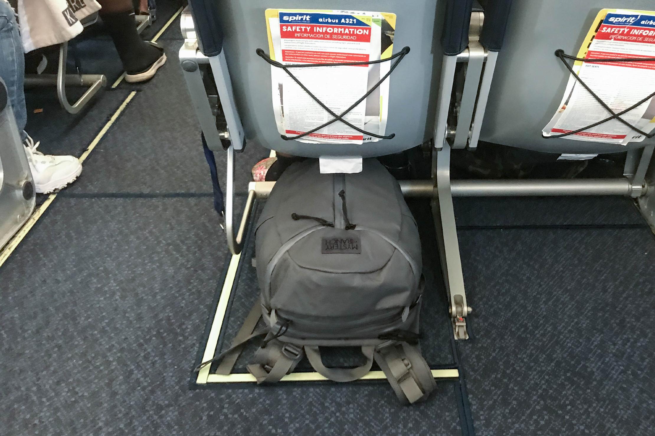 Mystery Ranch Urban Assault 24 Under Airplane Seat