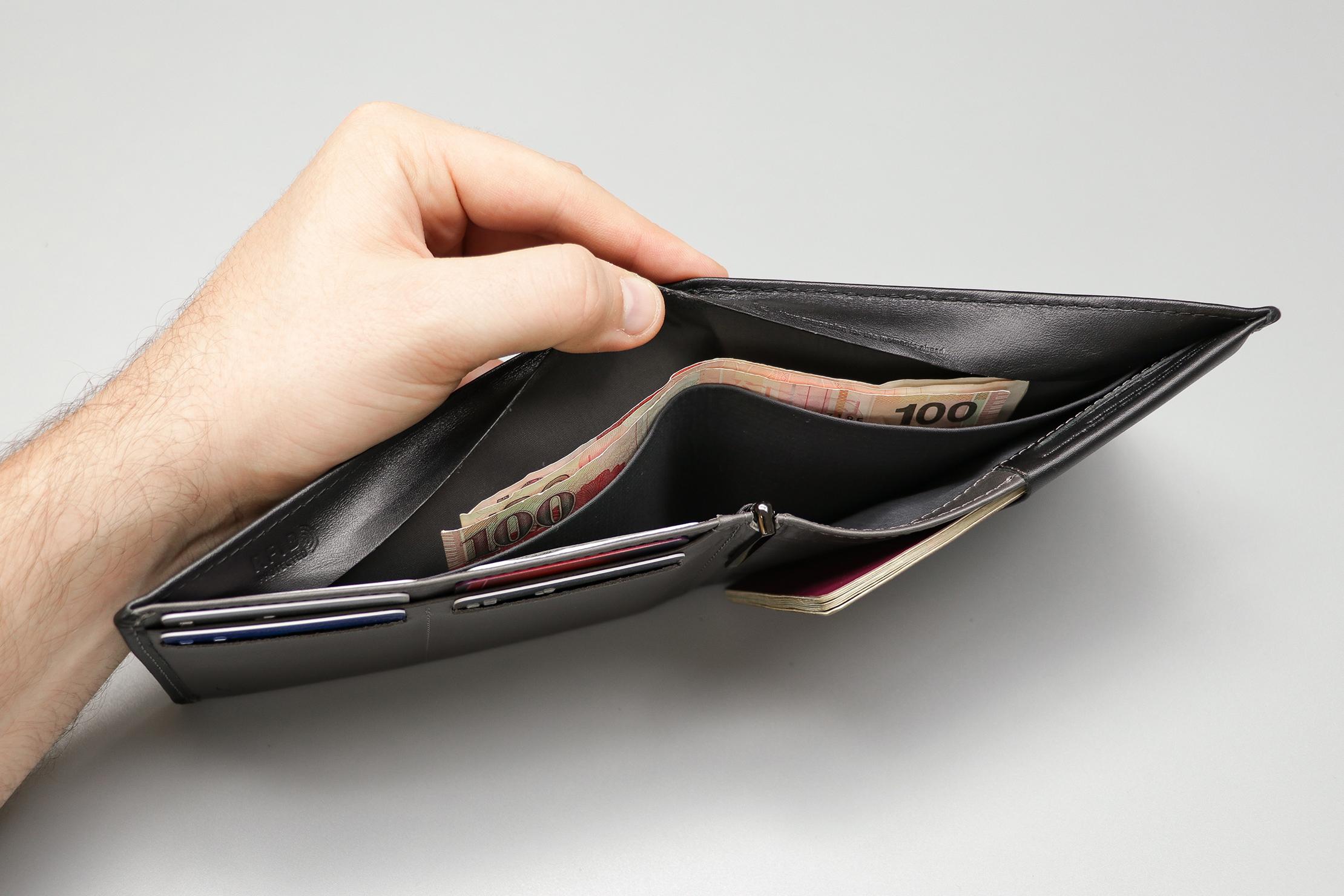 Bellroy Travel Wallet Hidden Compartment
