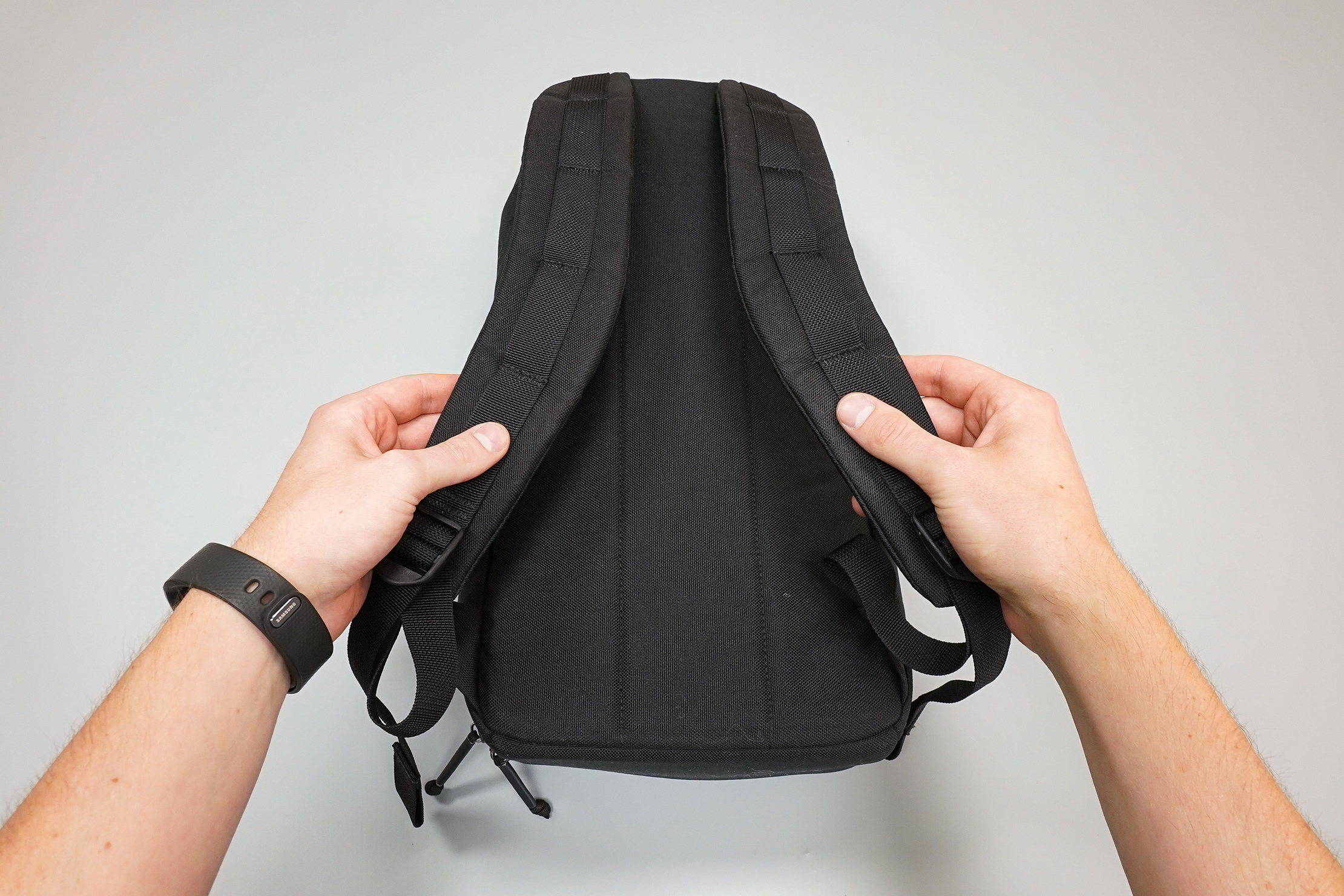 GORUCK Bullet Ruck 10L Back Panel and Shoulder Straps