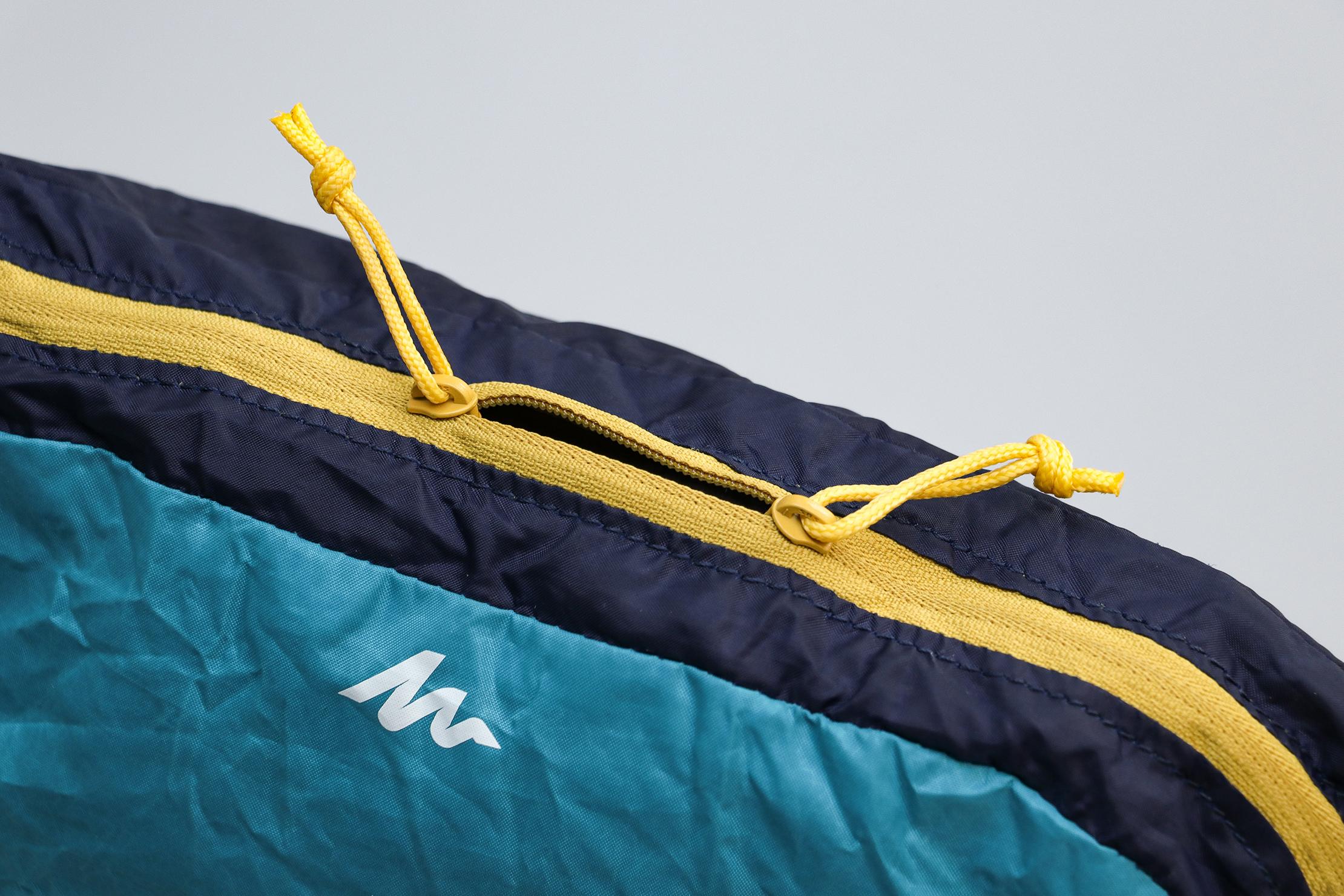 Quechua Ultra Compact Travel Waist Pack Zippers