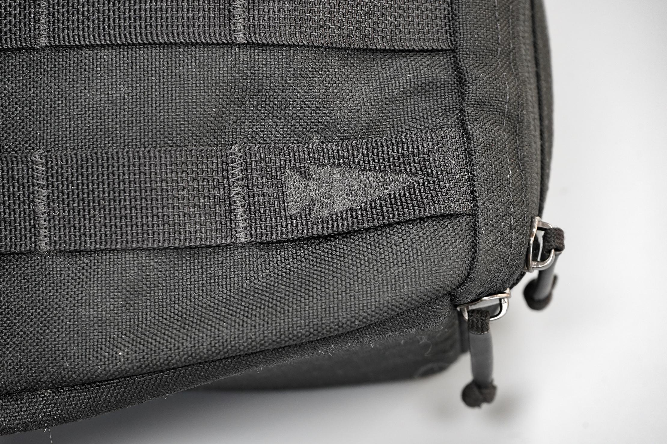 GORUCK Bullet Ruck 10L Logo & Material