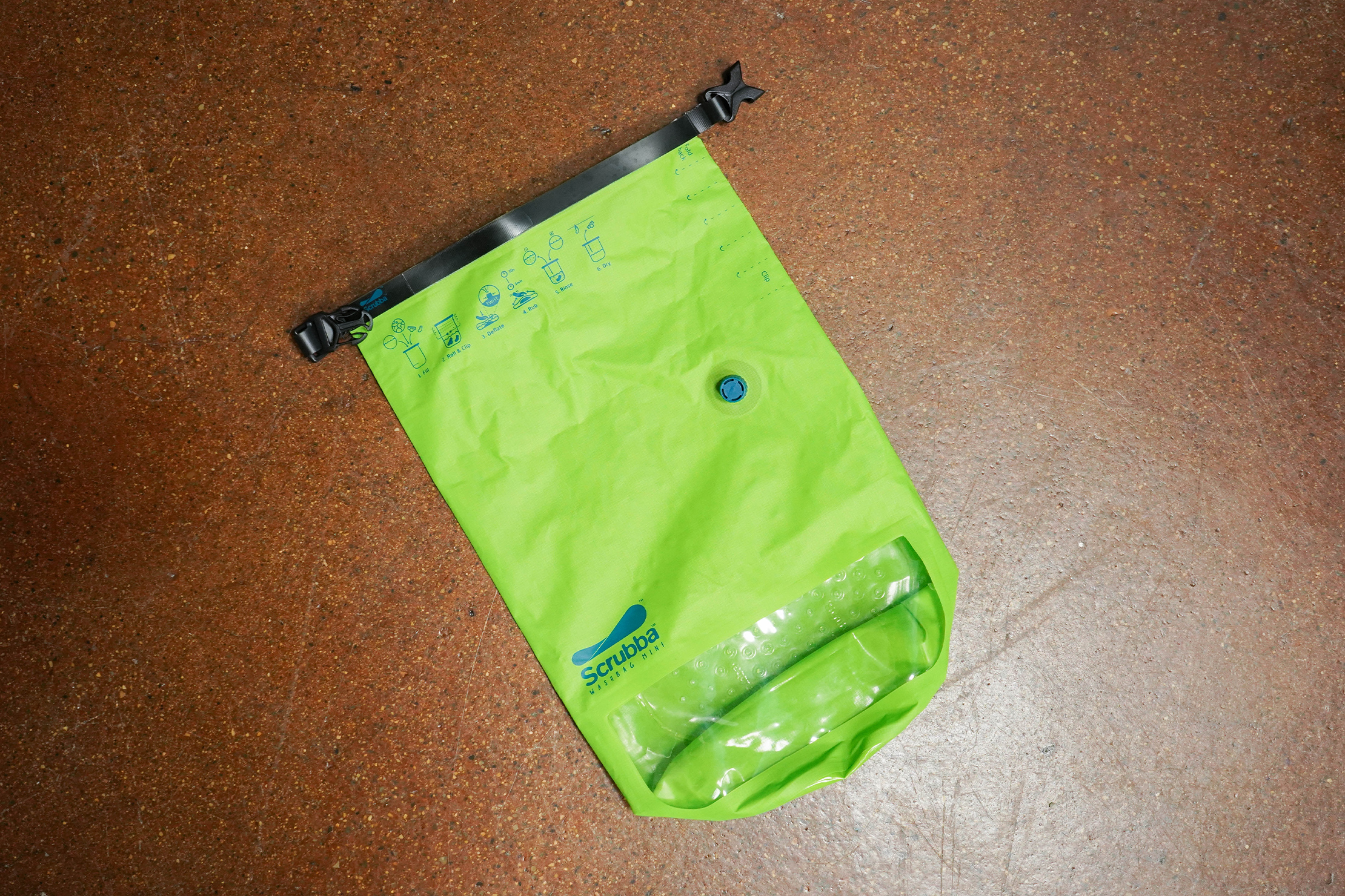 Scrubba Wash Bag Mini Flat