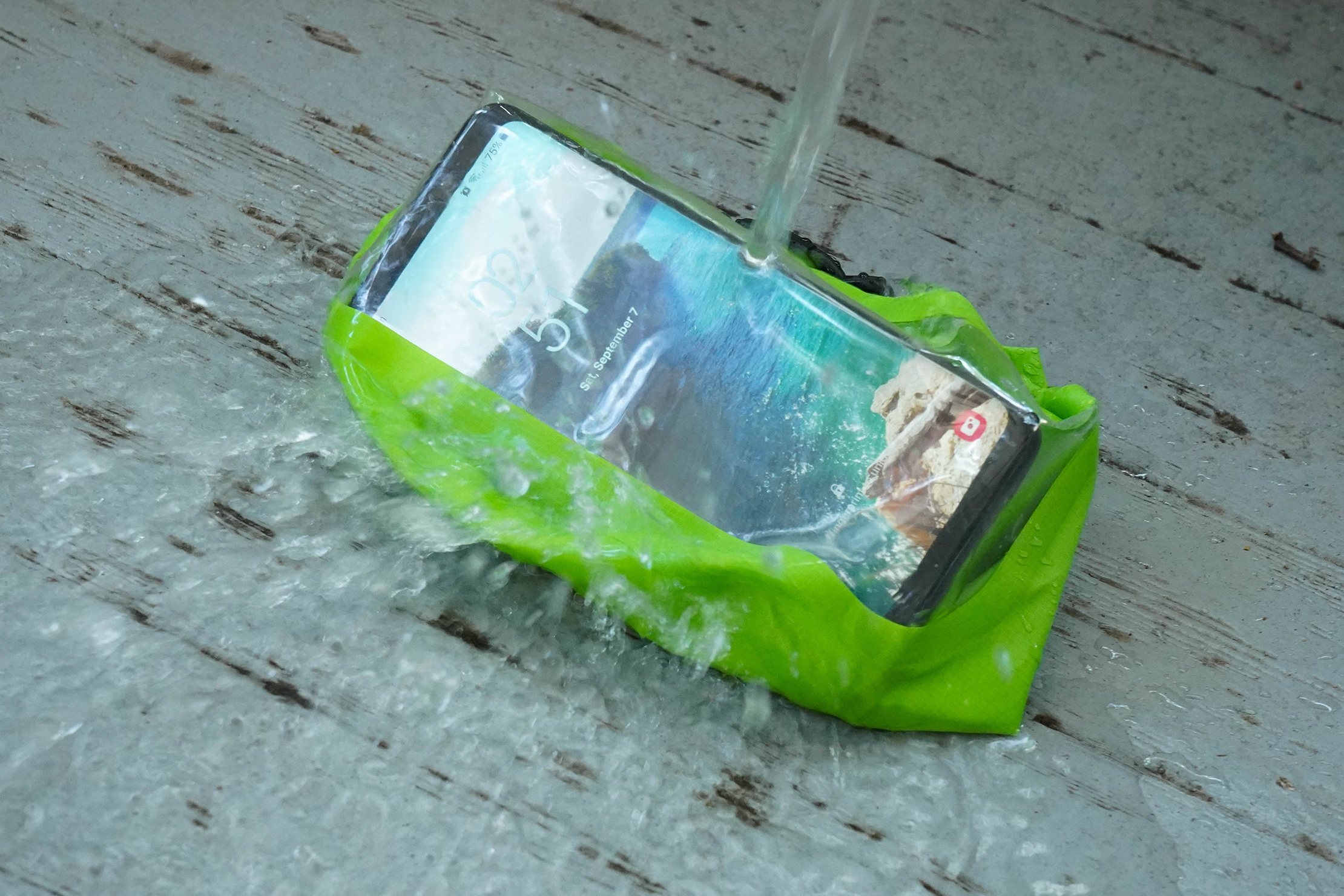 Scrubba Wash Bag Mini With Phone
