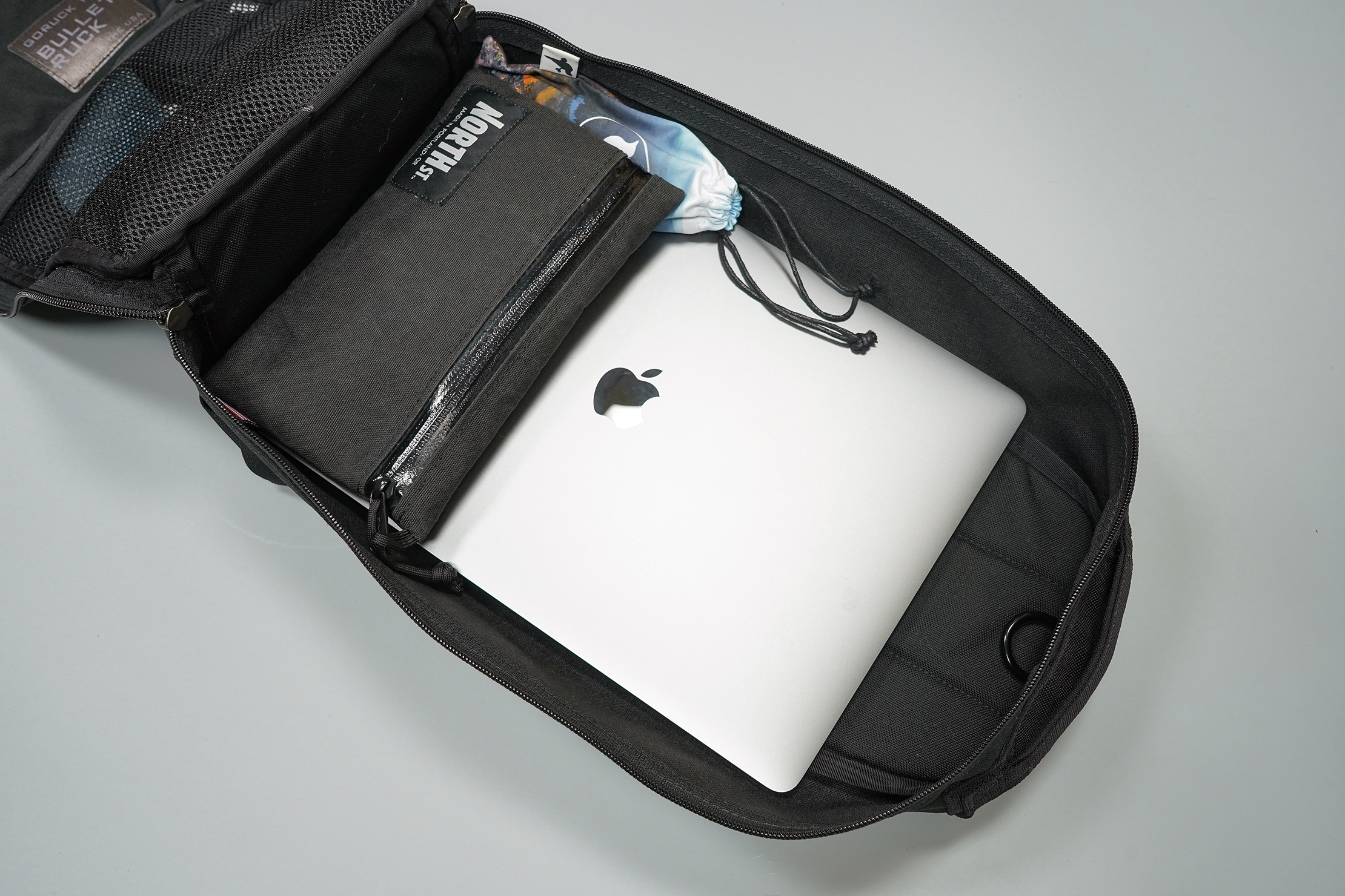 GORUCK Bullet Ruck 10L Packed With 15-Inch Laptop