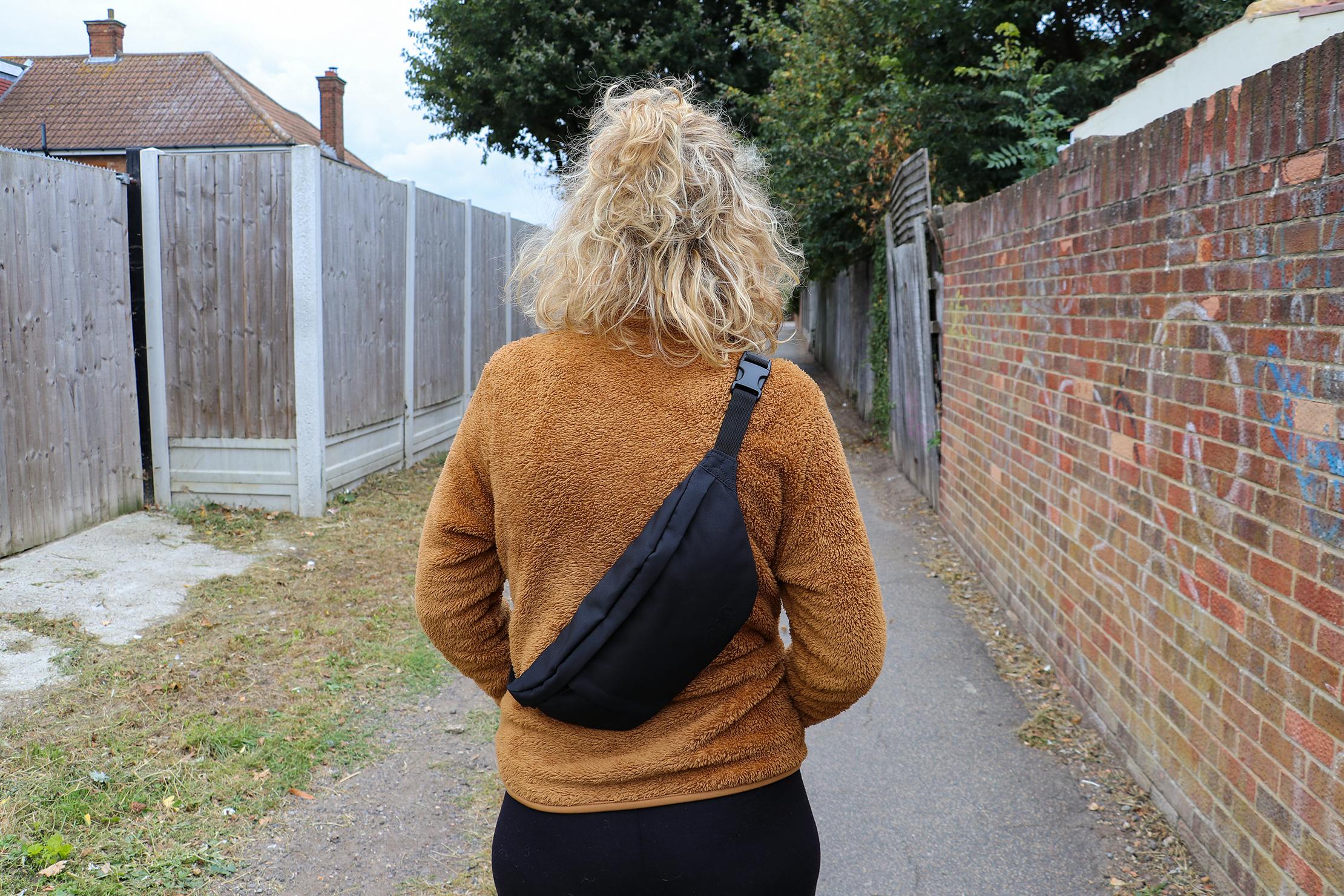 CabinZero Hip Pack 2L On Rebecca In Essex, England
