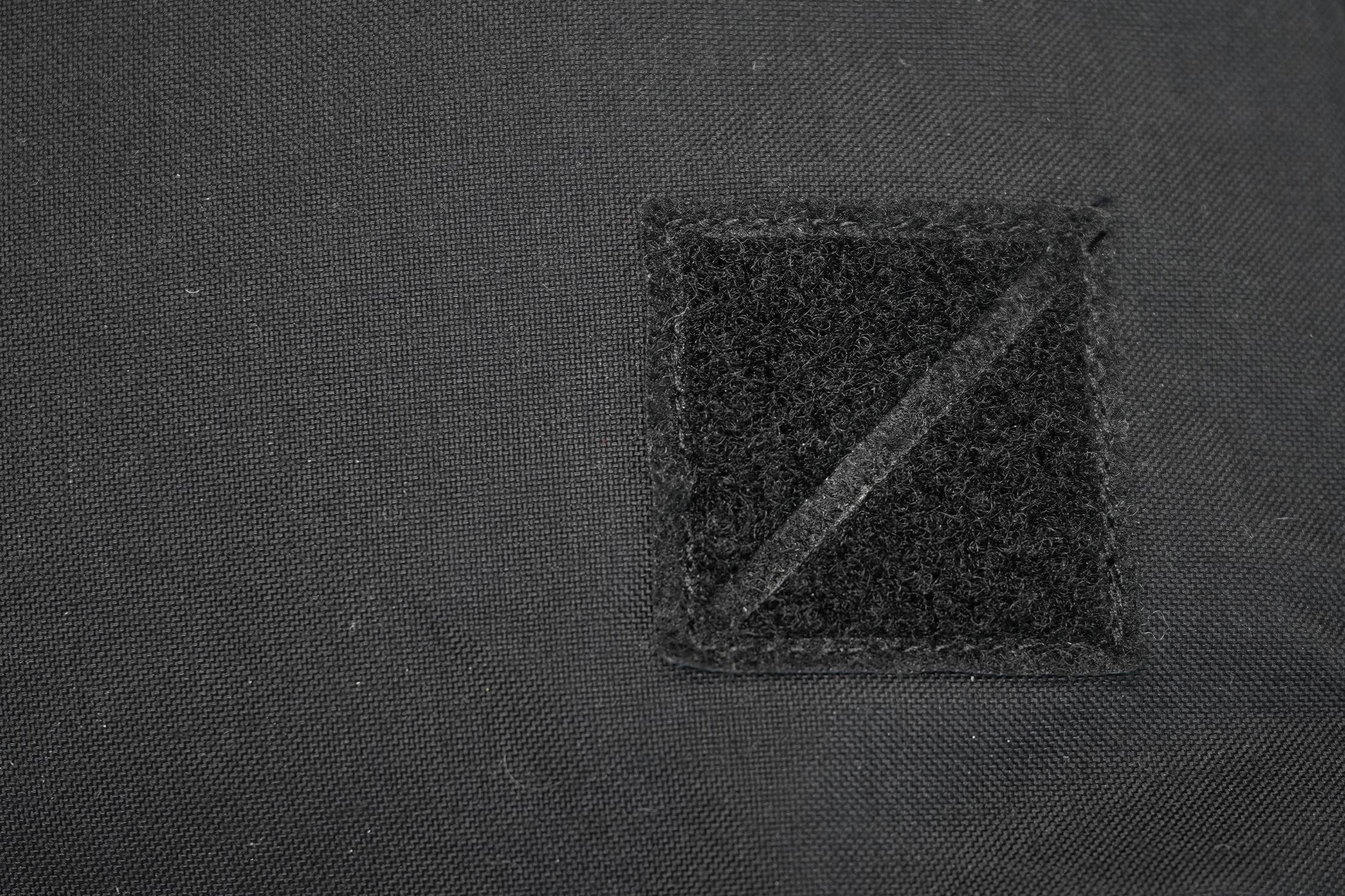 EVERGOODS Civic Half Zip 22 Velcro Logo