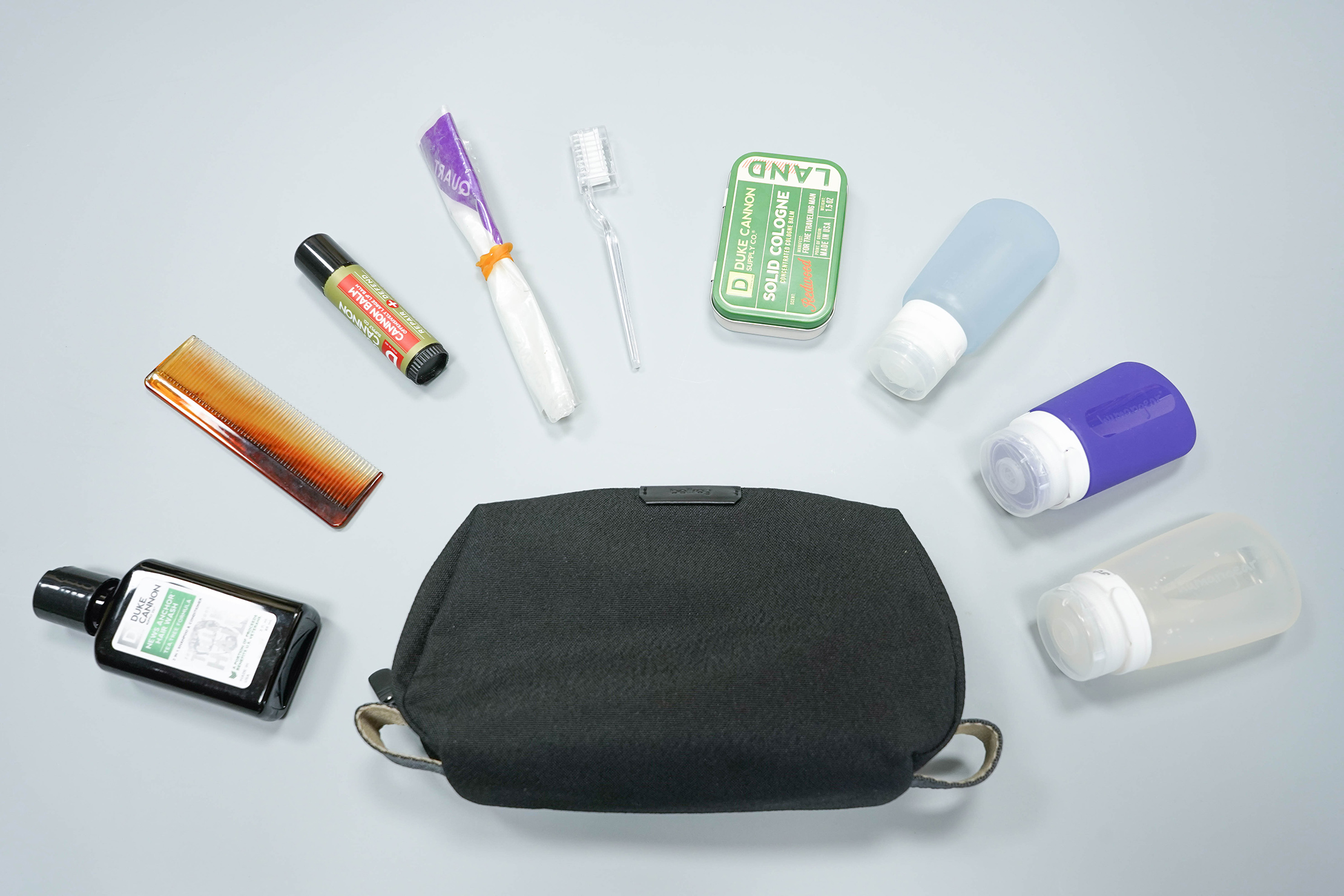 Bellroy Dopp Kit Flat Lay
