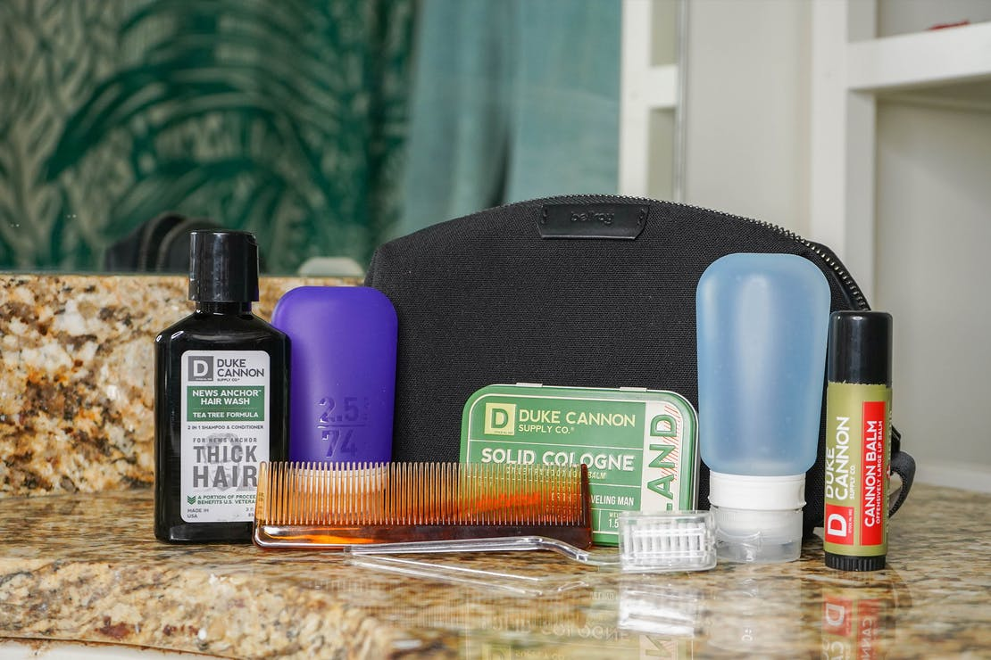 Bellroy Dopp Kit In Bathroom
