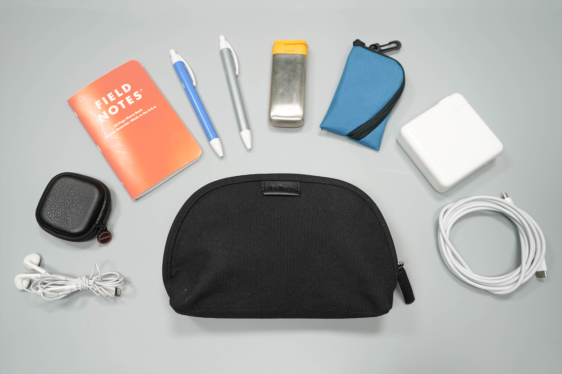 Bellroy Classic Pouch Flat Lay