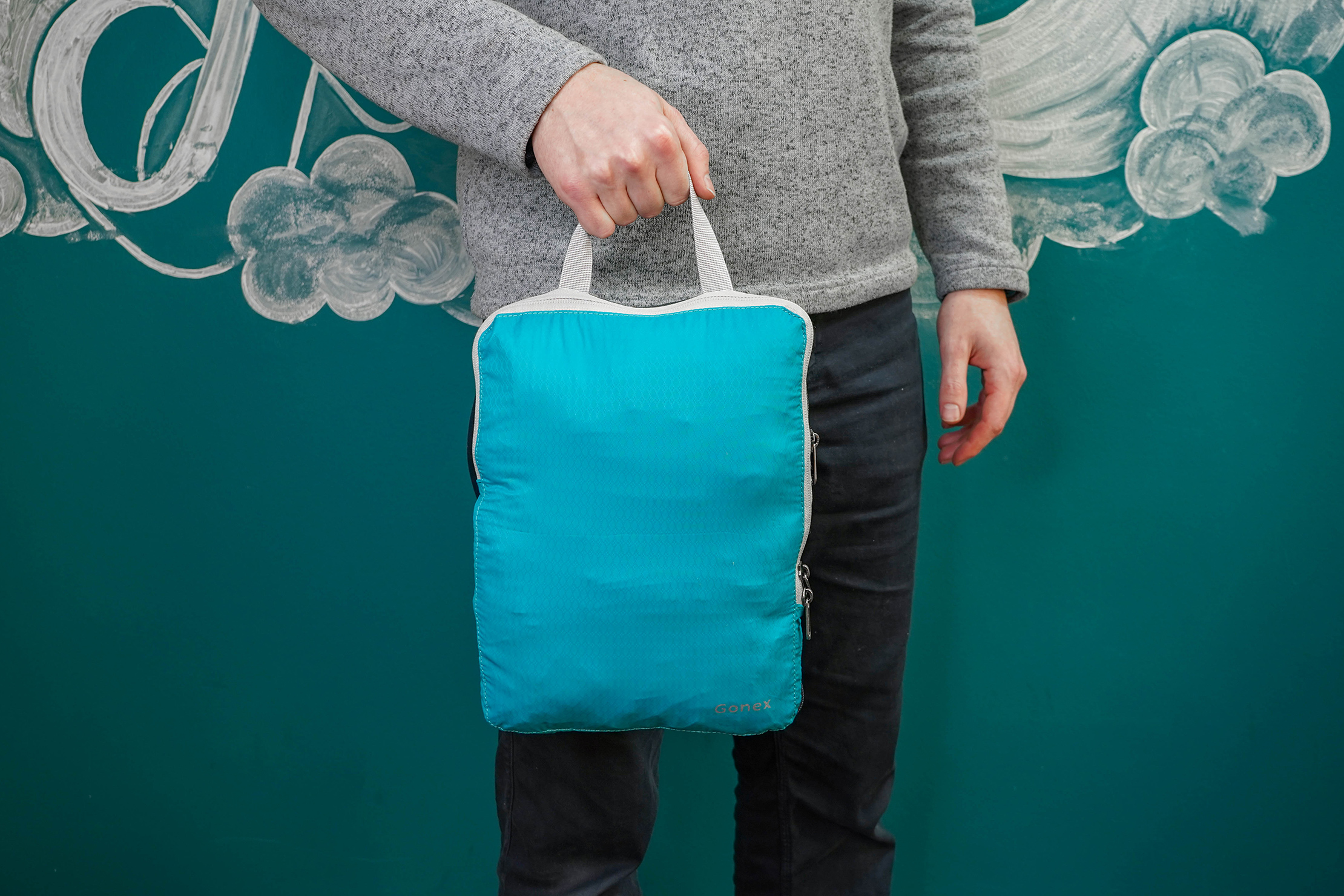 Gonex Compression Packing Cubes Handle Carry