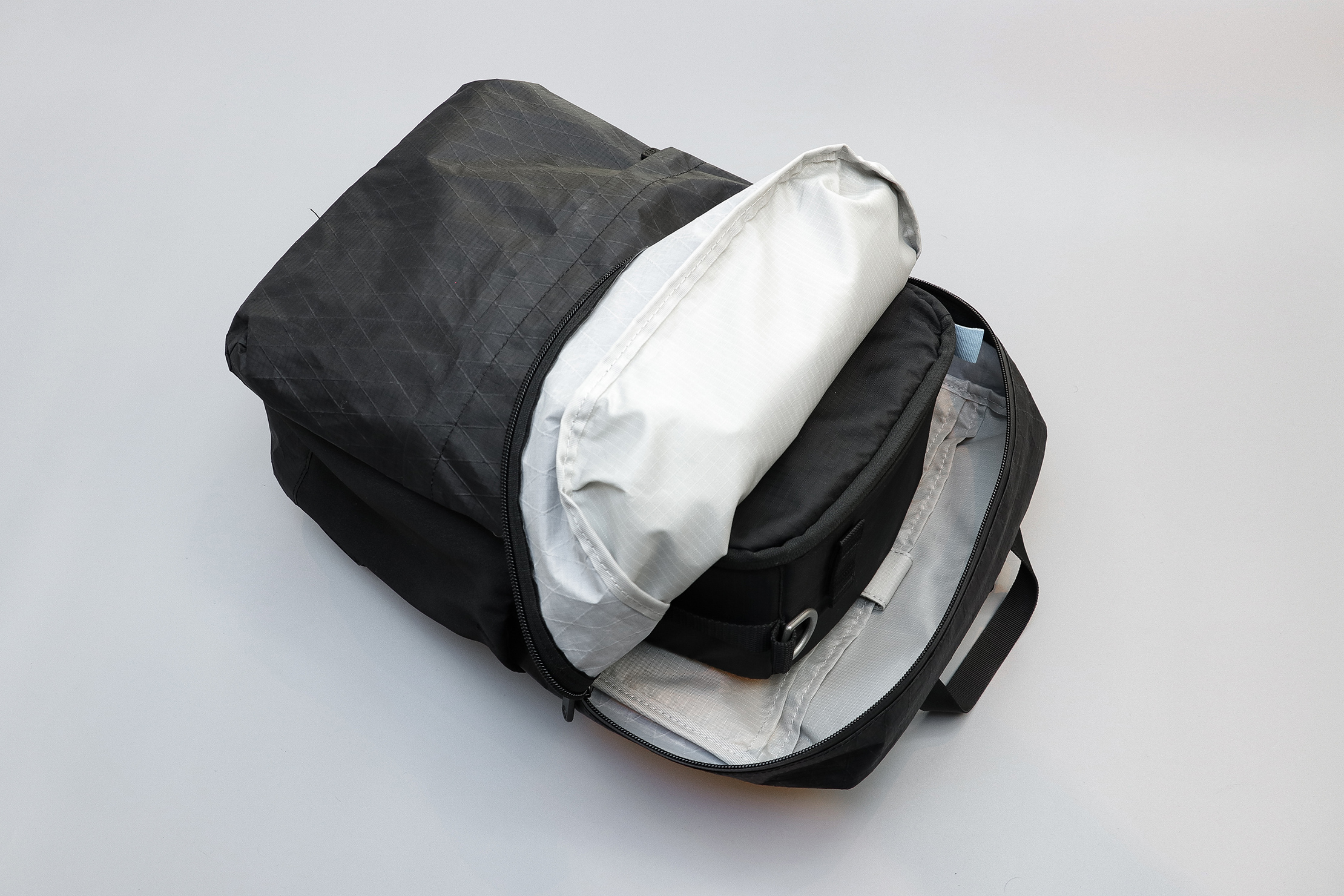 Tortuga Outbreaker Daypack With A Small Shallow F-Stop ICU In The Main Compartment