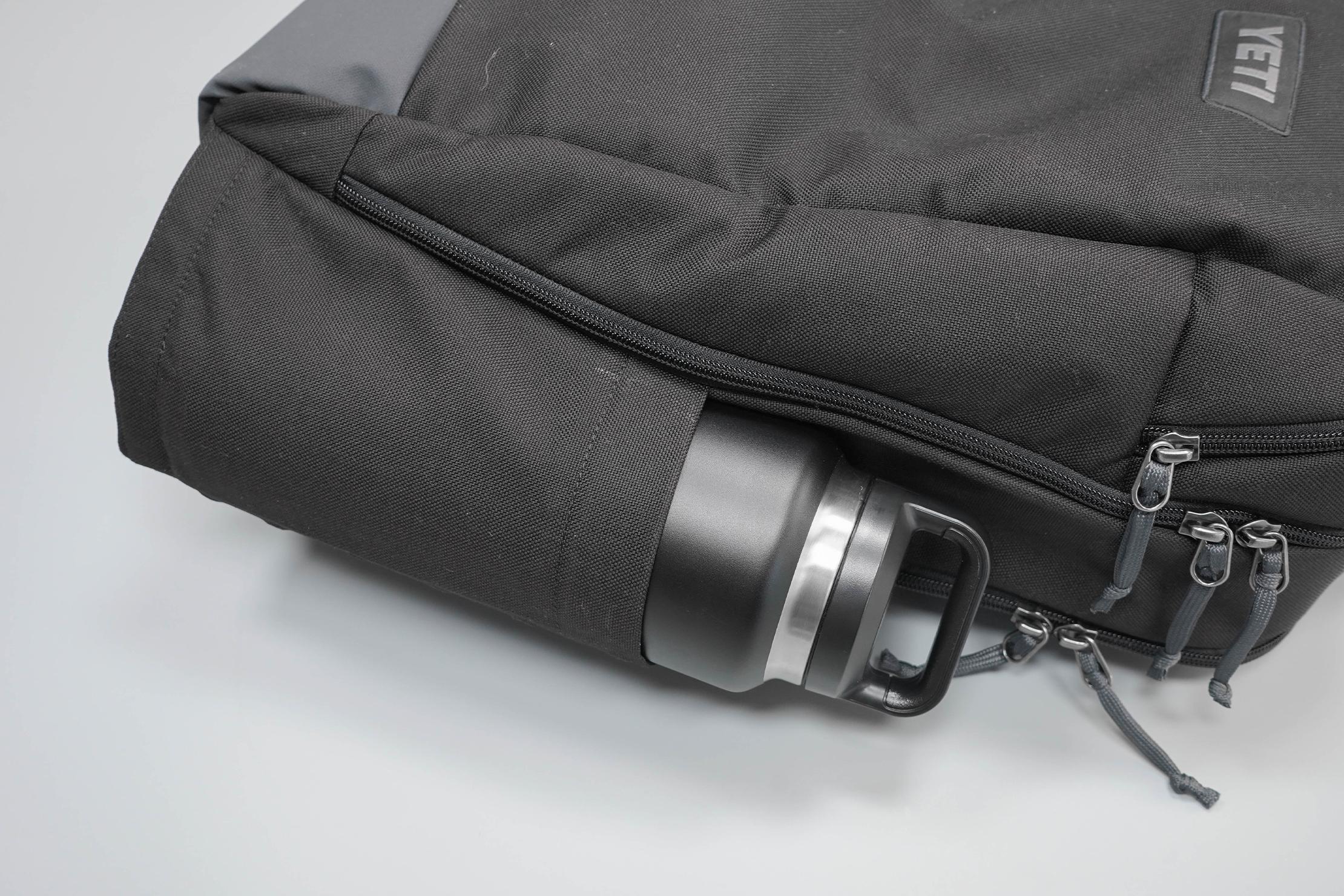 YETI Crossroads Backpack 23 Water Bottle Pocket