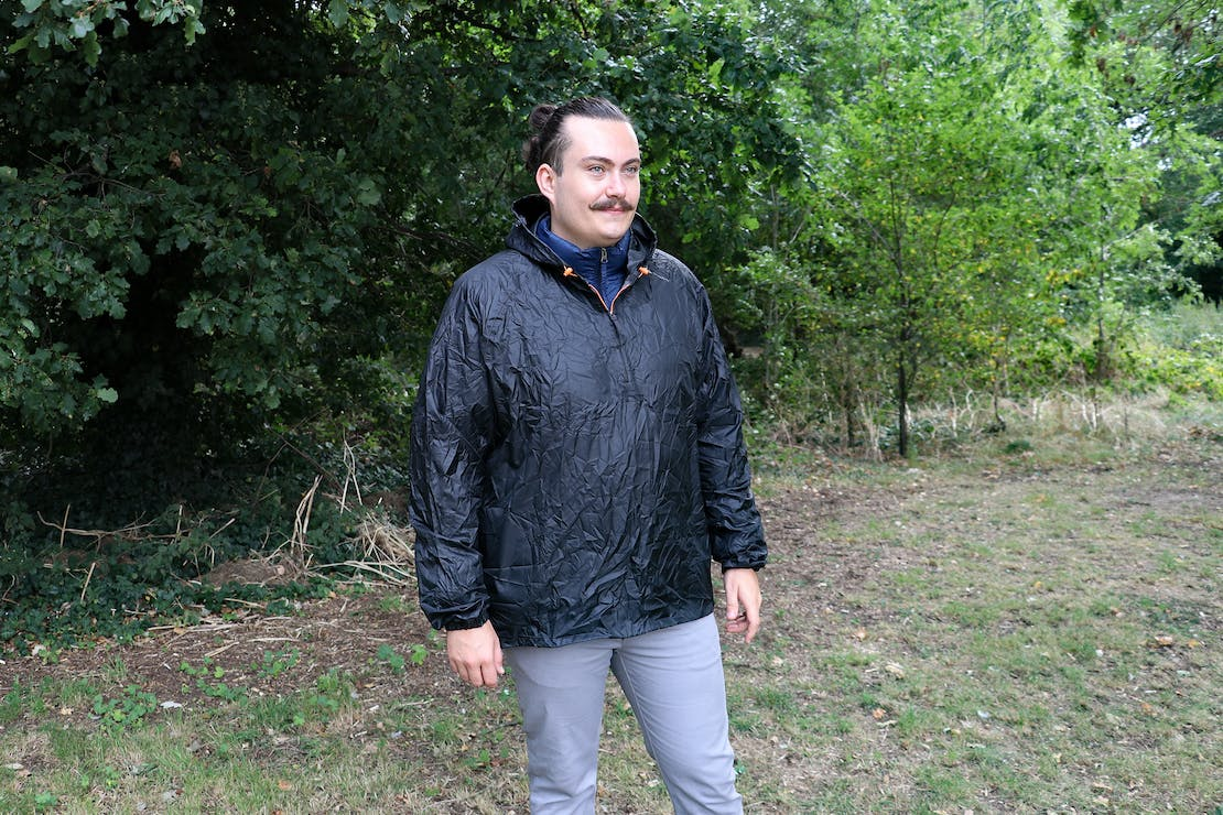 Quechua Waterproof Rain Jacket Raincut In Essex, England