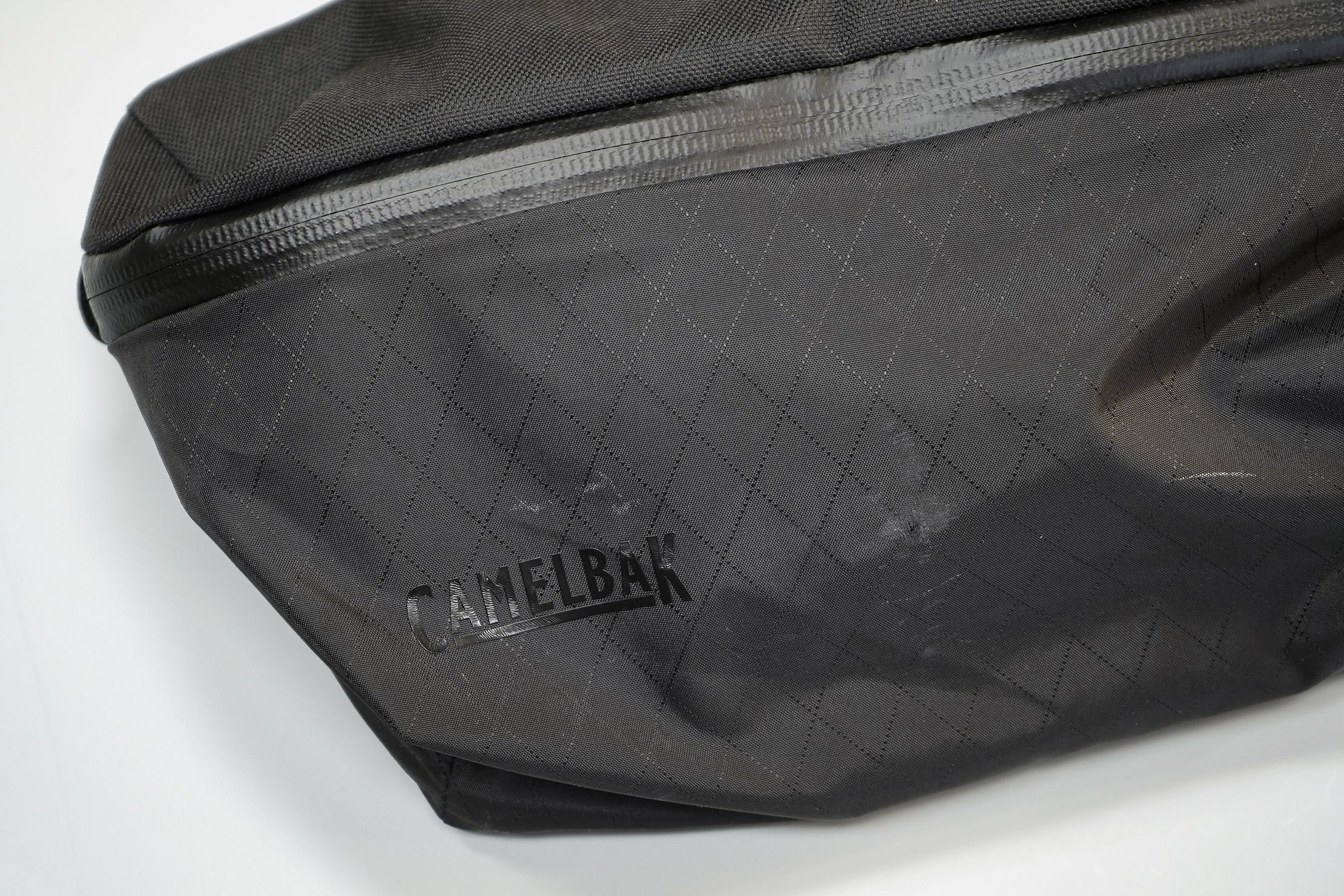 CamelBak Pivot Sling & Waist Pack Logo & Material