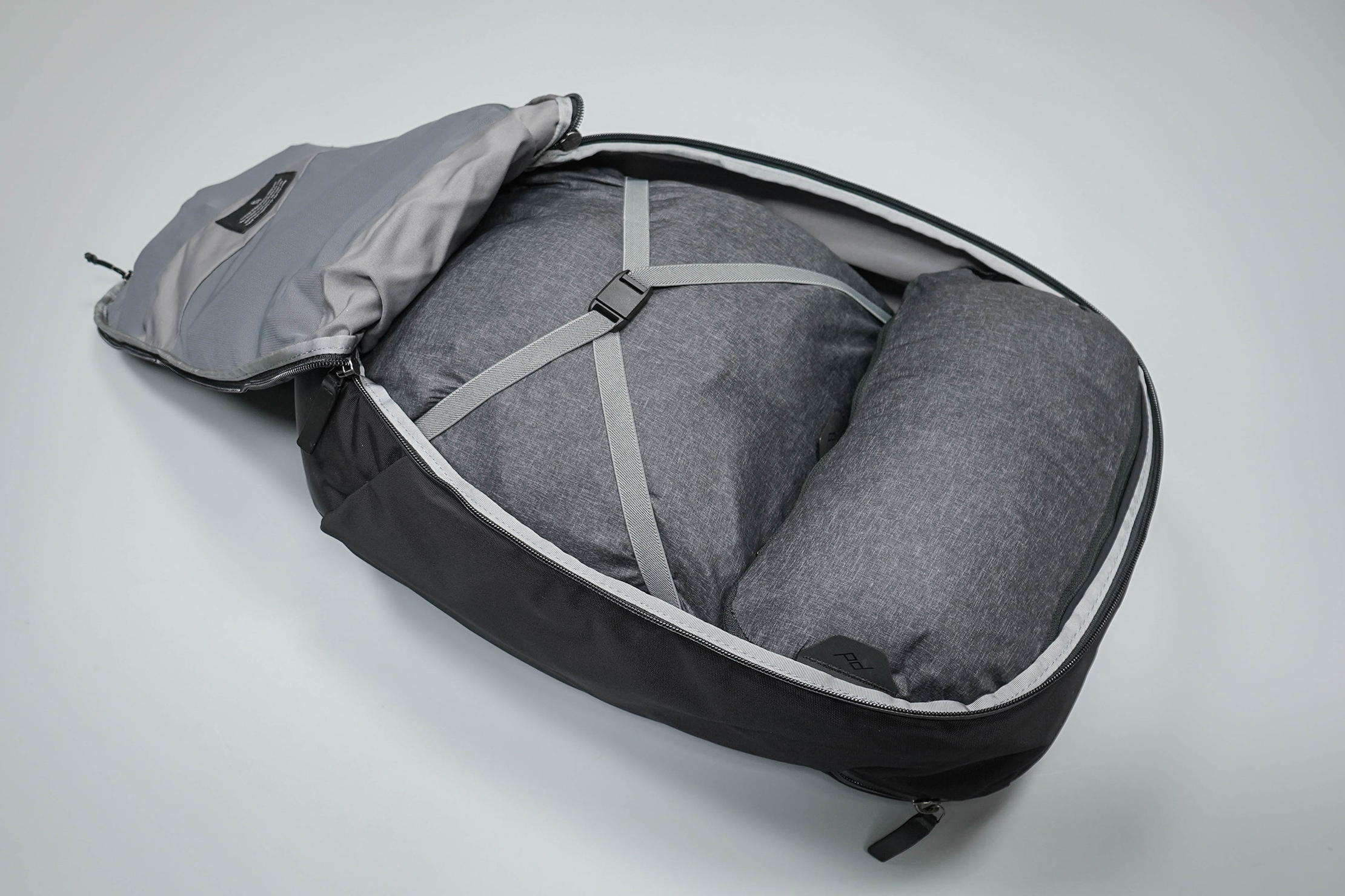 Bellroy Transit Backpack Main Compartment With Packing Cubes