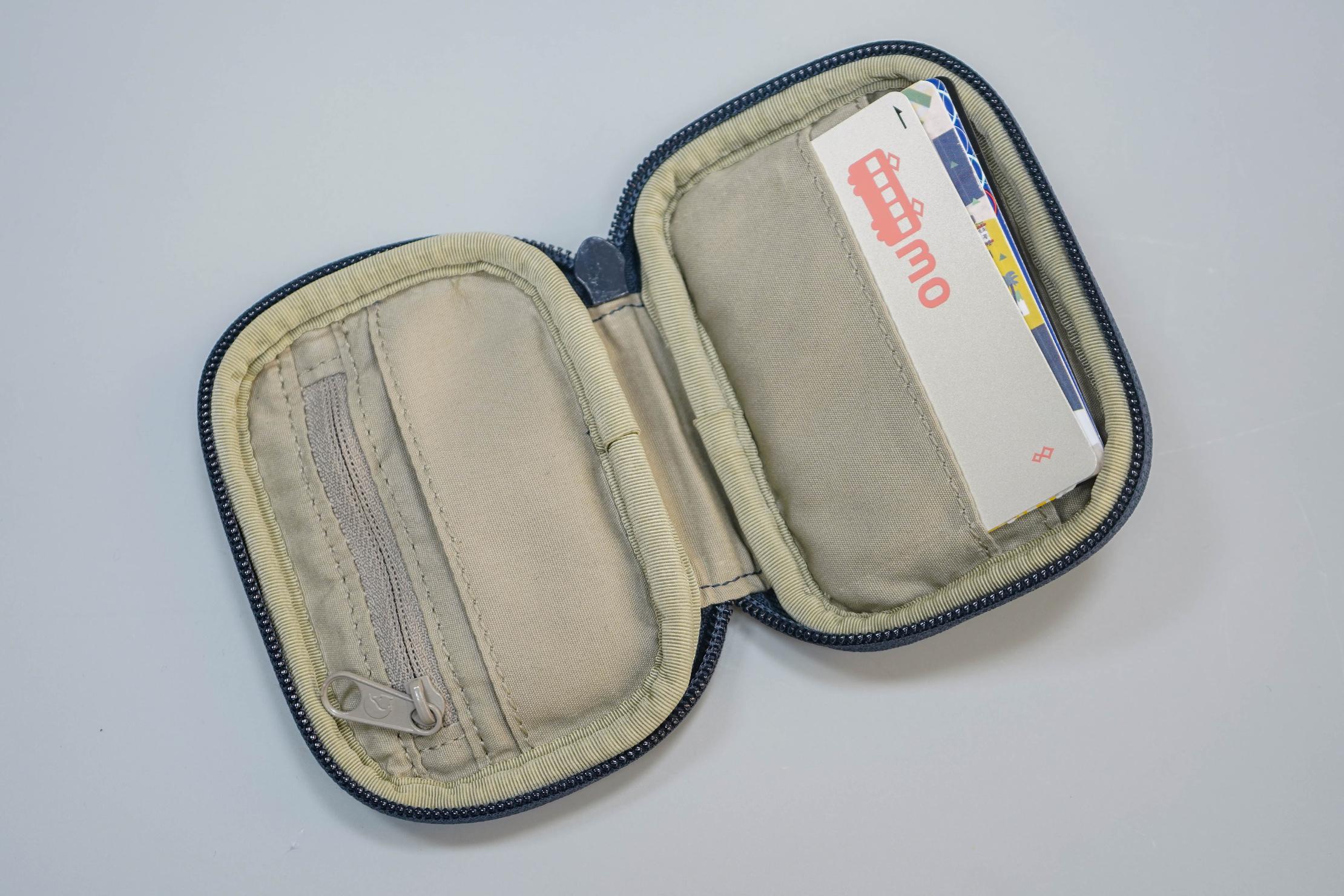 Fjallraven Kanken Card Wallet Open
