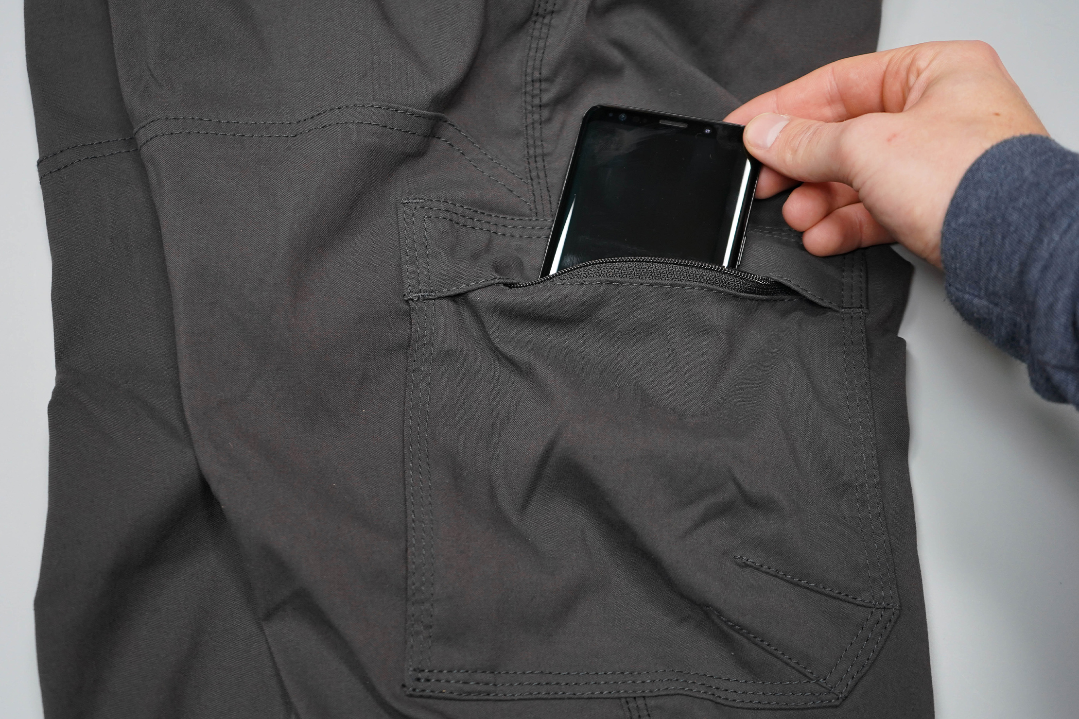 prAna Stretch Zion Pant Side Pocket