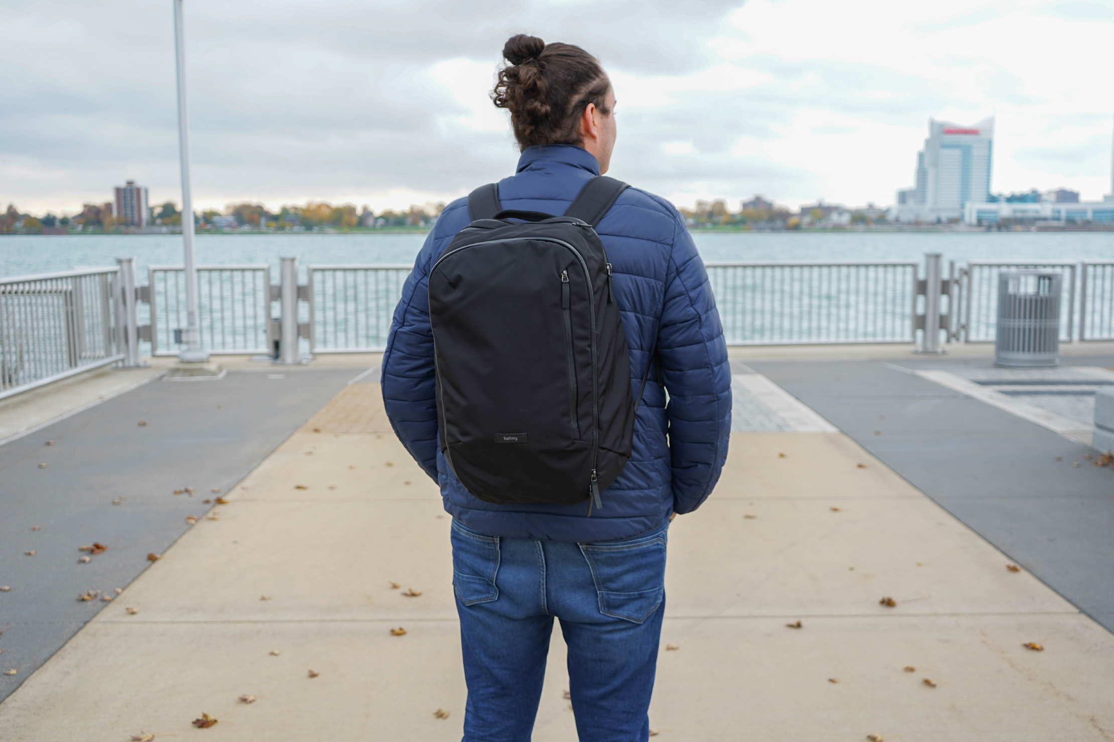 Bellroy Transit Backpack In Use