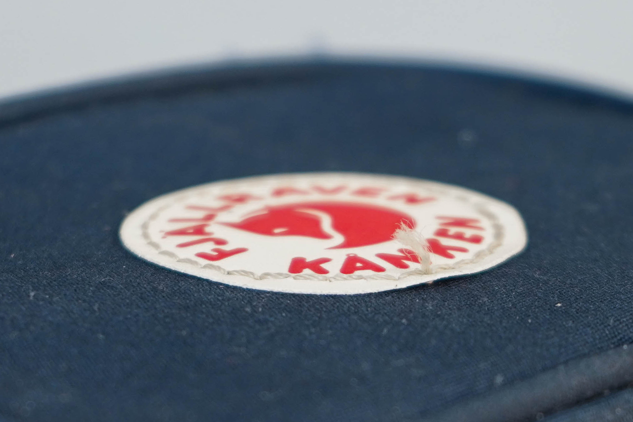 Fjallraven Kanken Card Wallet Fraying