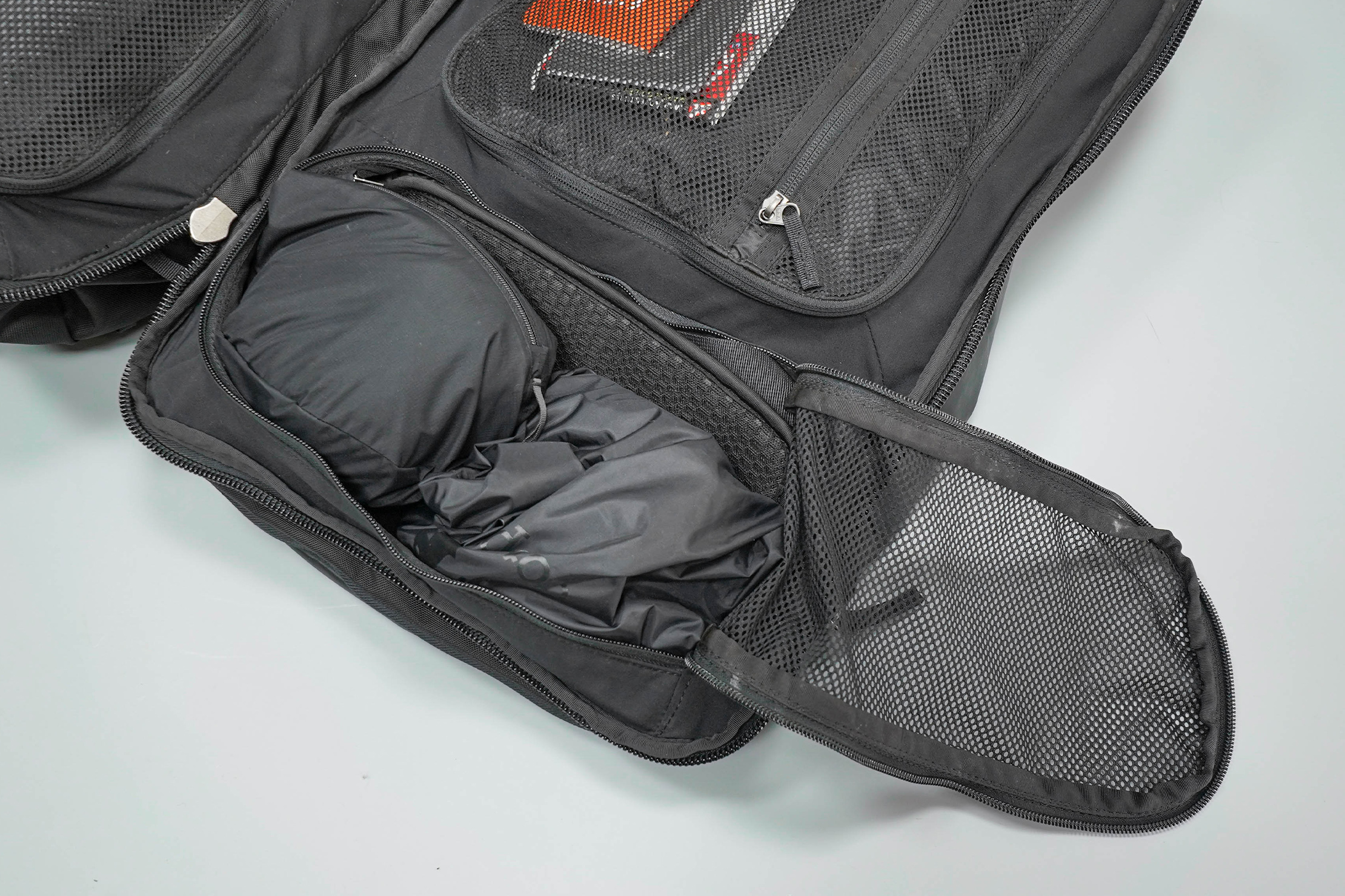 Cotopaxi Allpa 42L Main Compartment, Left Side Top Pocket