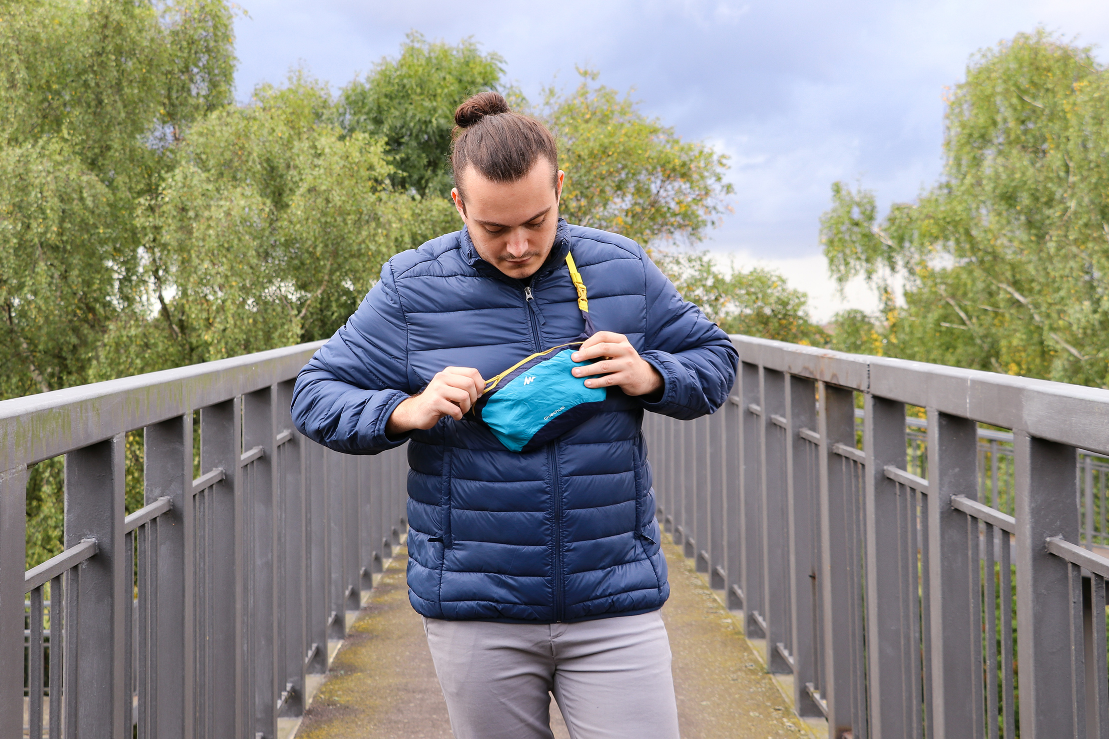 Quechua Ultra-Compact Travel Waist Pack In Essex, England