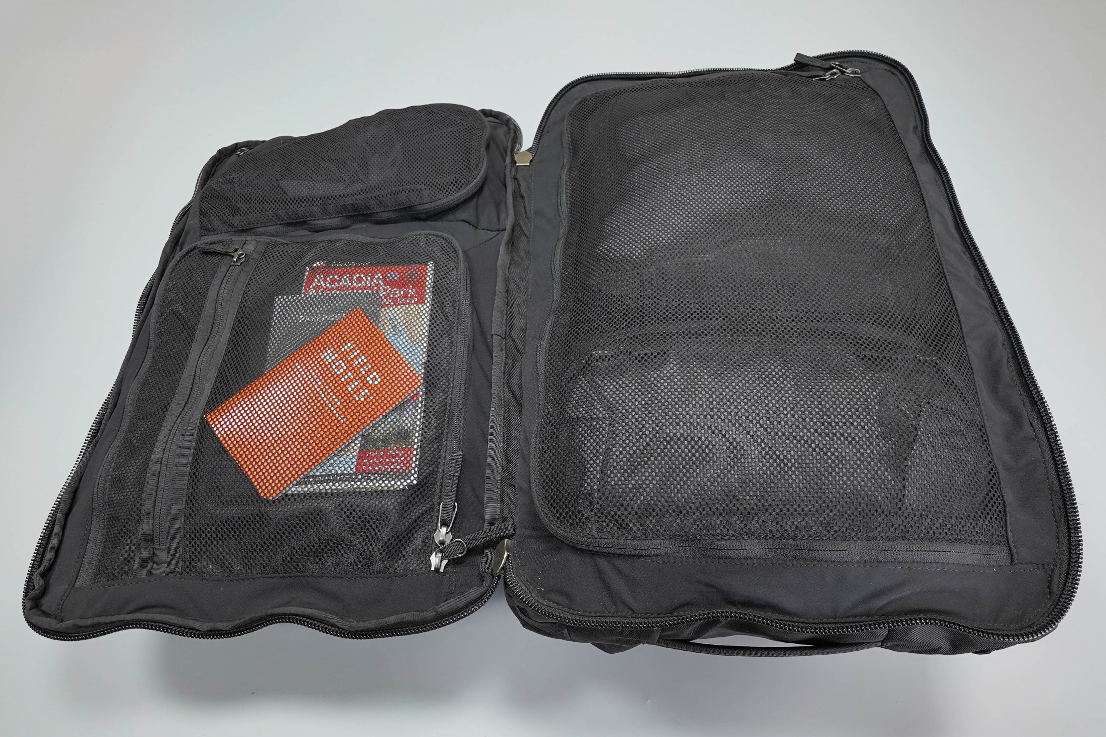 Cotopaxi Allpa 42L Main Compartment Clamshell Opening