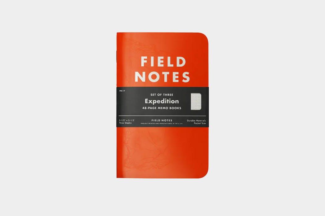 Field Notes Expedition Edition Waterproof Notebook