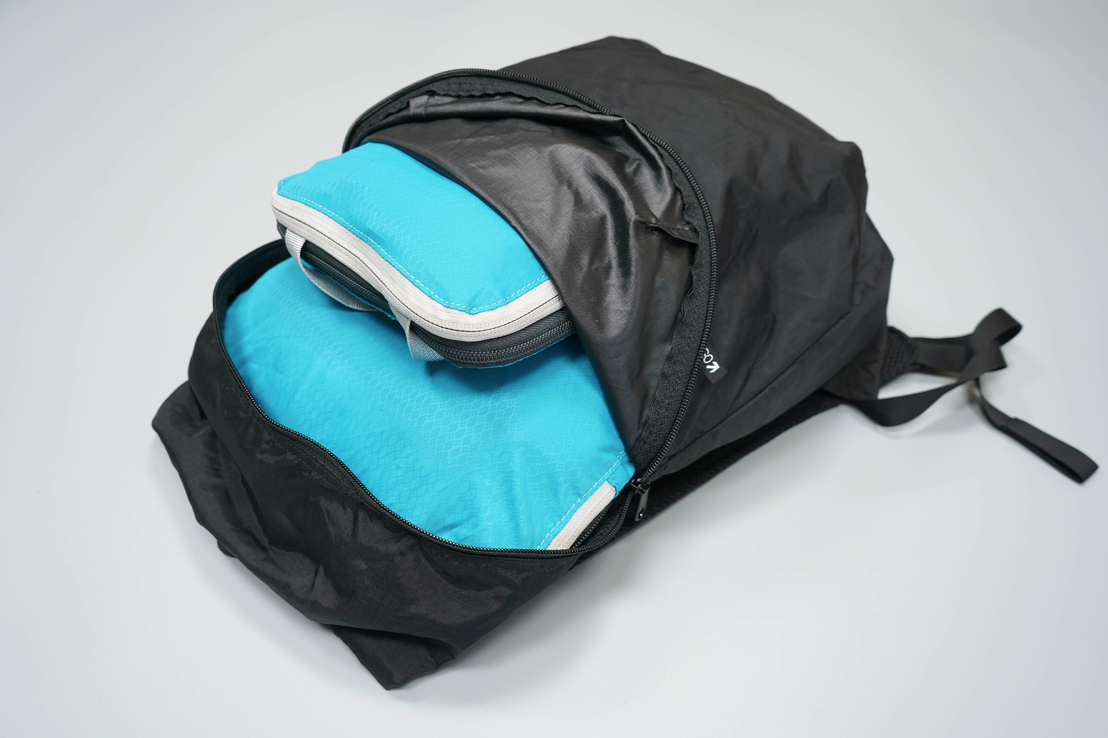 Kathmandu Pocket Pack V4 Main Compartment Packed