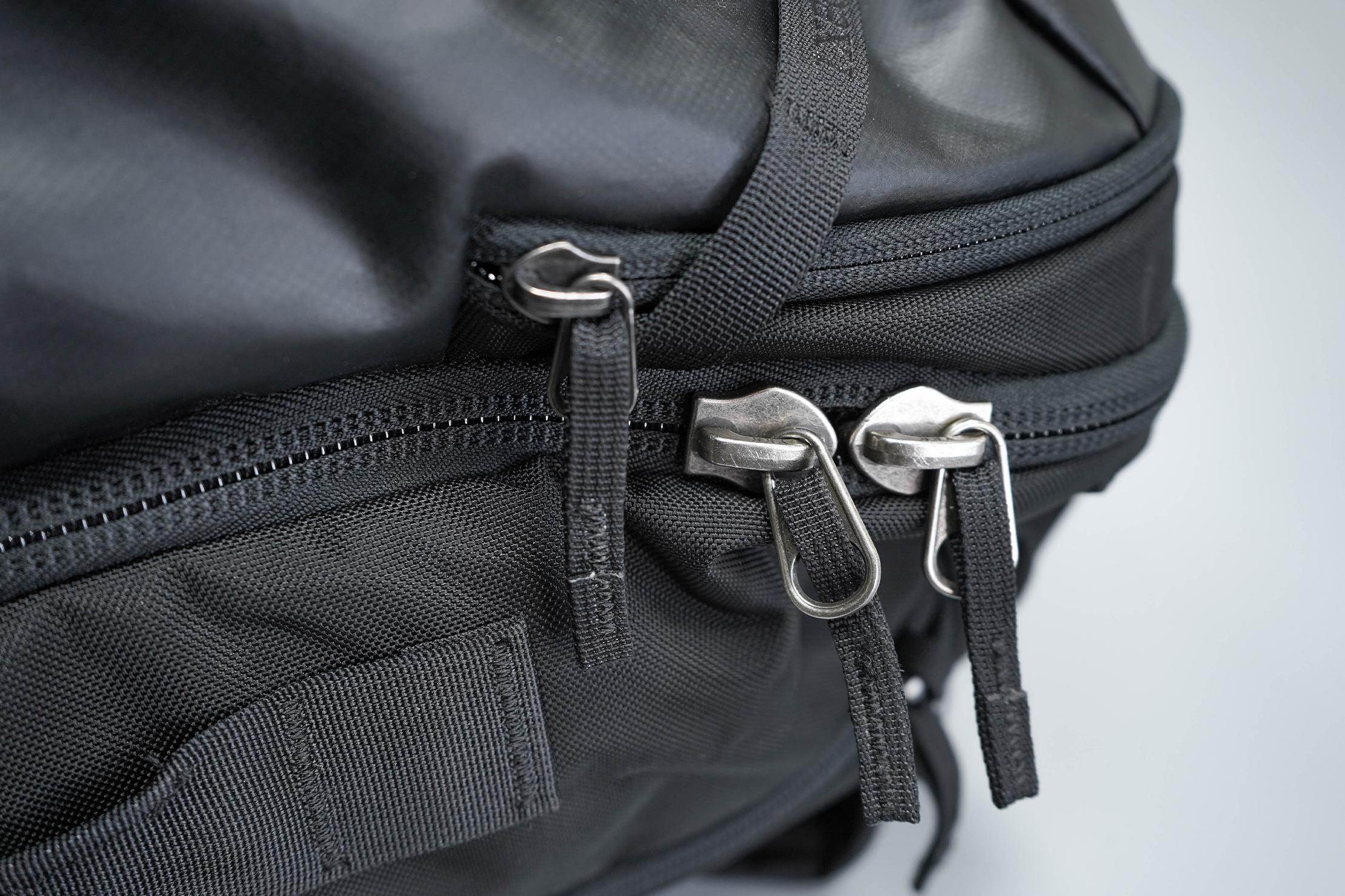 Cotopaxi Allpa 42L Zippers