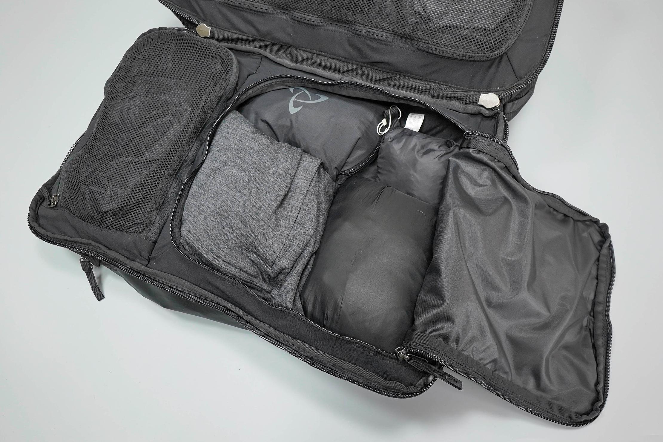 Cotopaxi Allpa 42L Main Compartment, Left Side Bottom Pocket