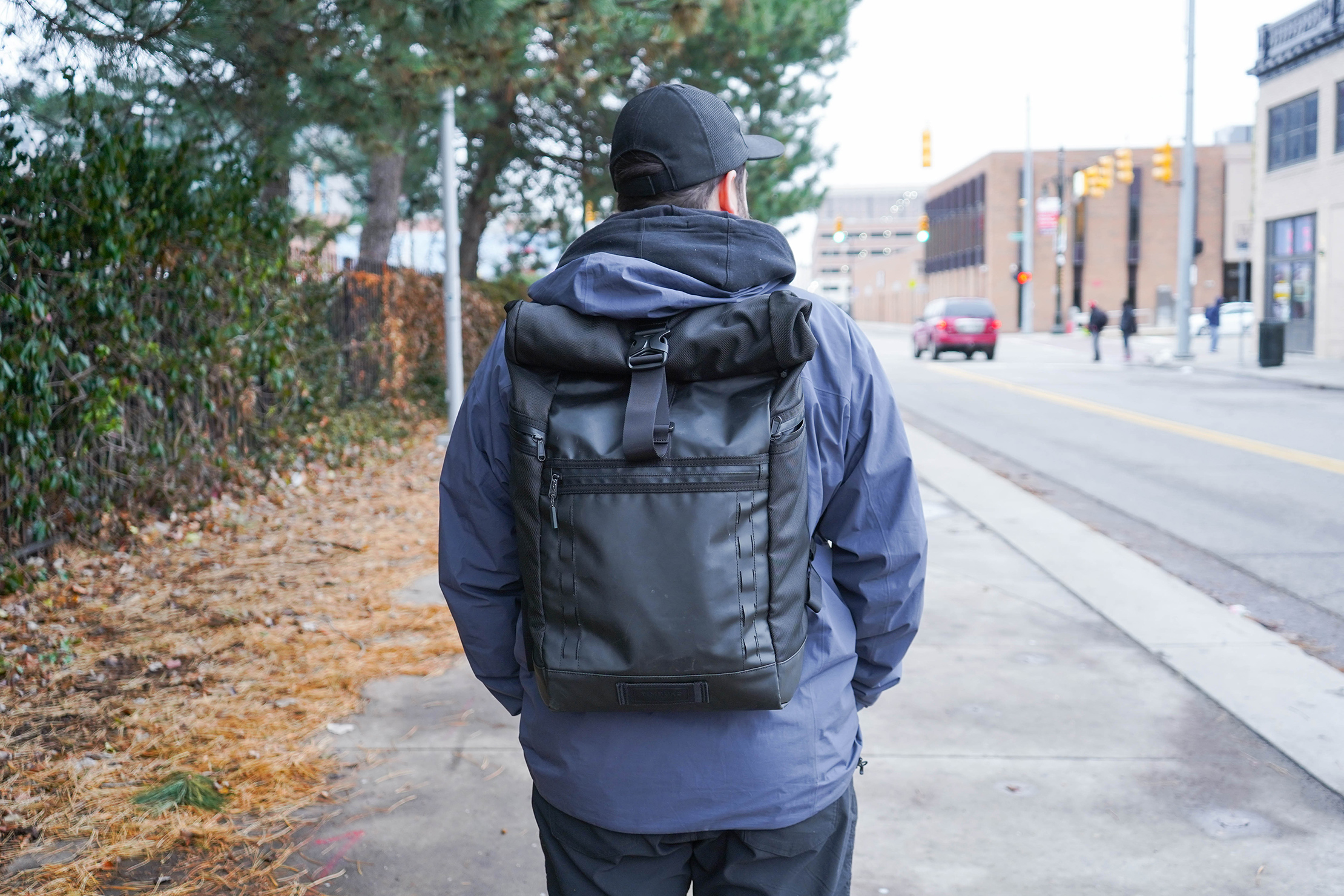 Timbuk2 Tech Roll Top Backpack In Detroit