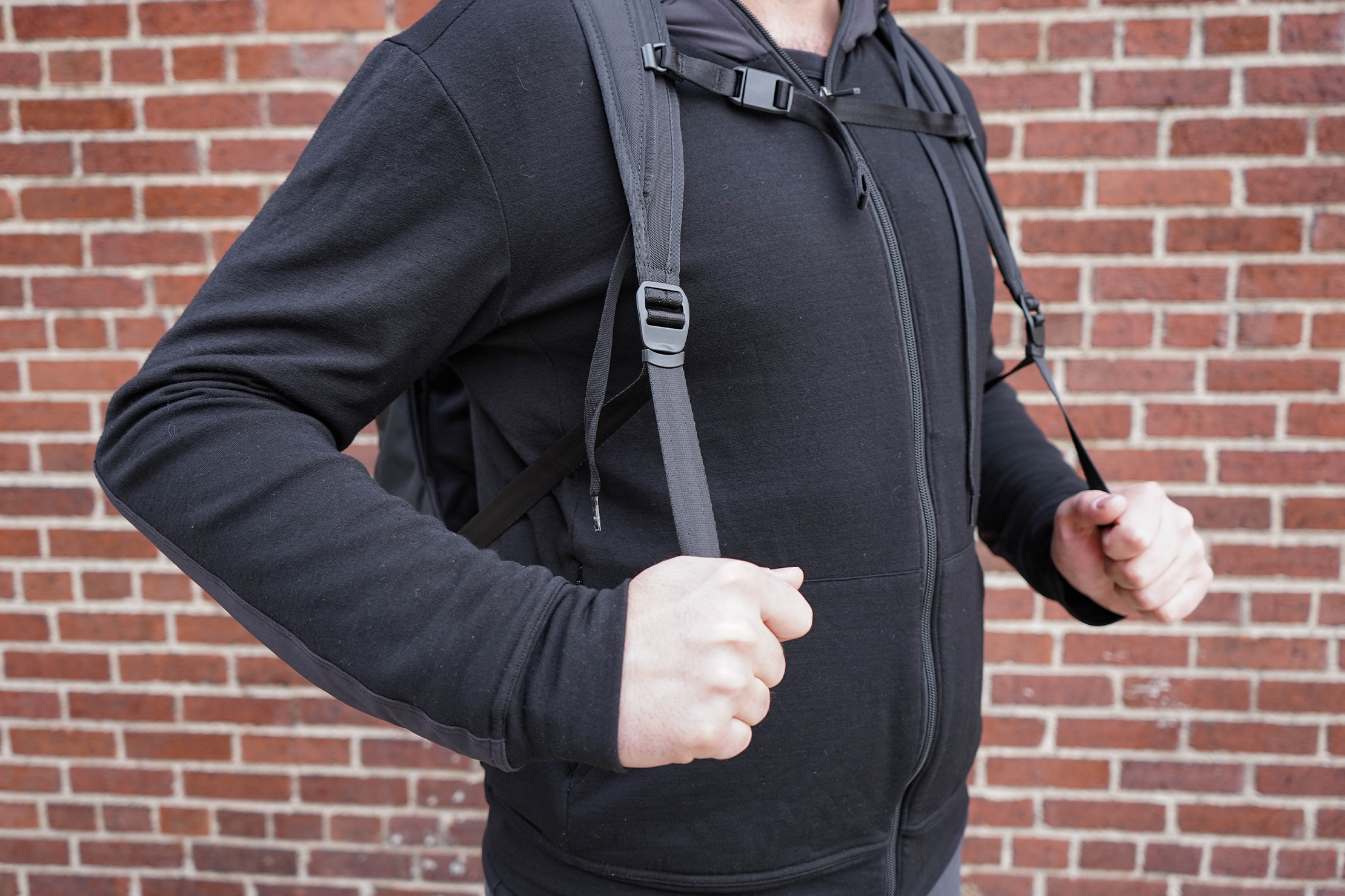 Bellroy Transit Backpack Shoulder Strap Adjustment