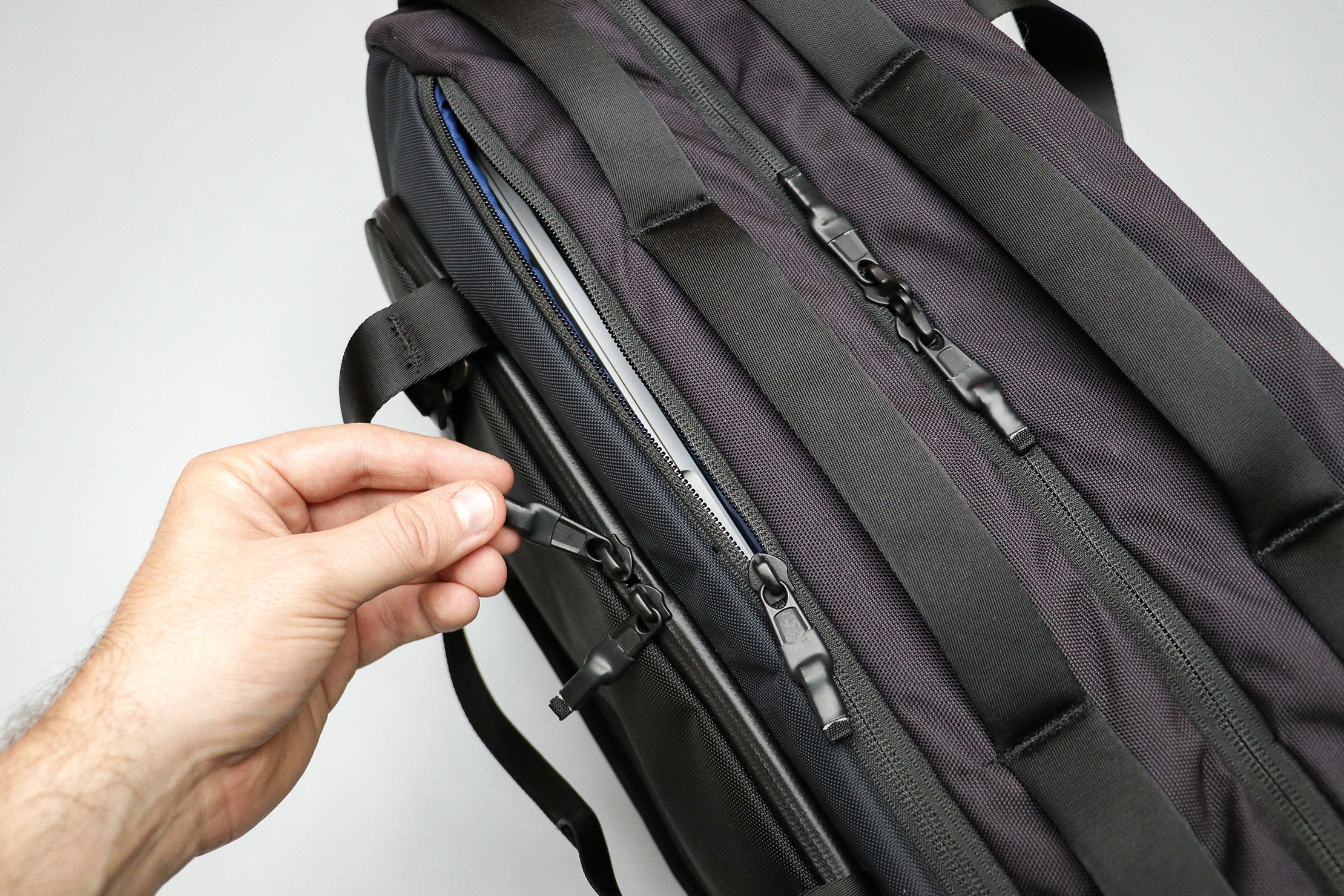 Timbuk2 Never Check Backpack Duffel Zippers