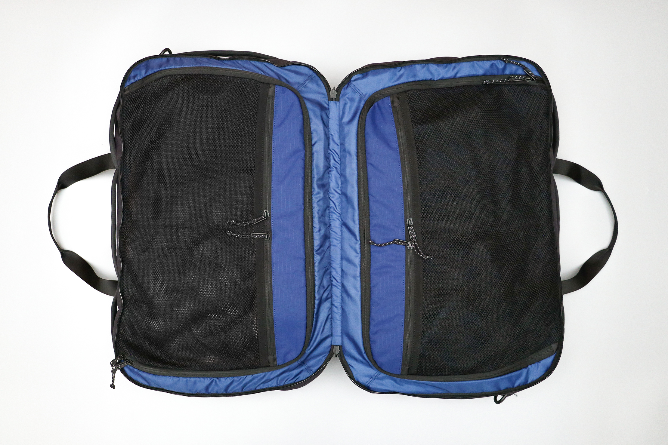 Timbuk2 Never Check Backpack Duffel Clamshell Opening