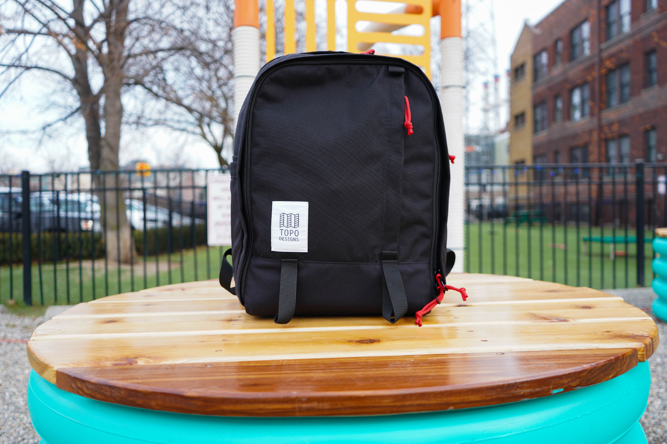 Topo Designs Core Pack Standing Up