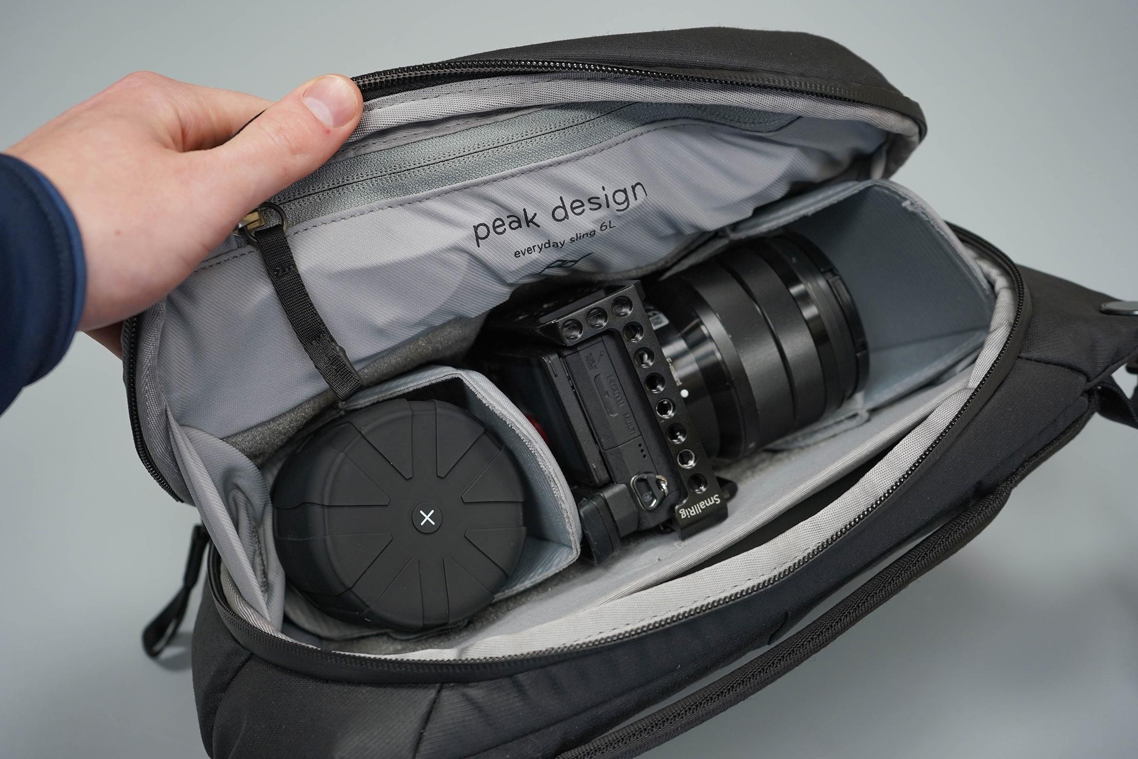 Peak Design Everyday Sling 6L V2 Main Packed