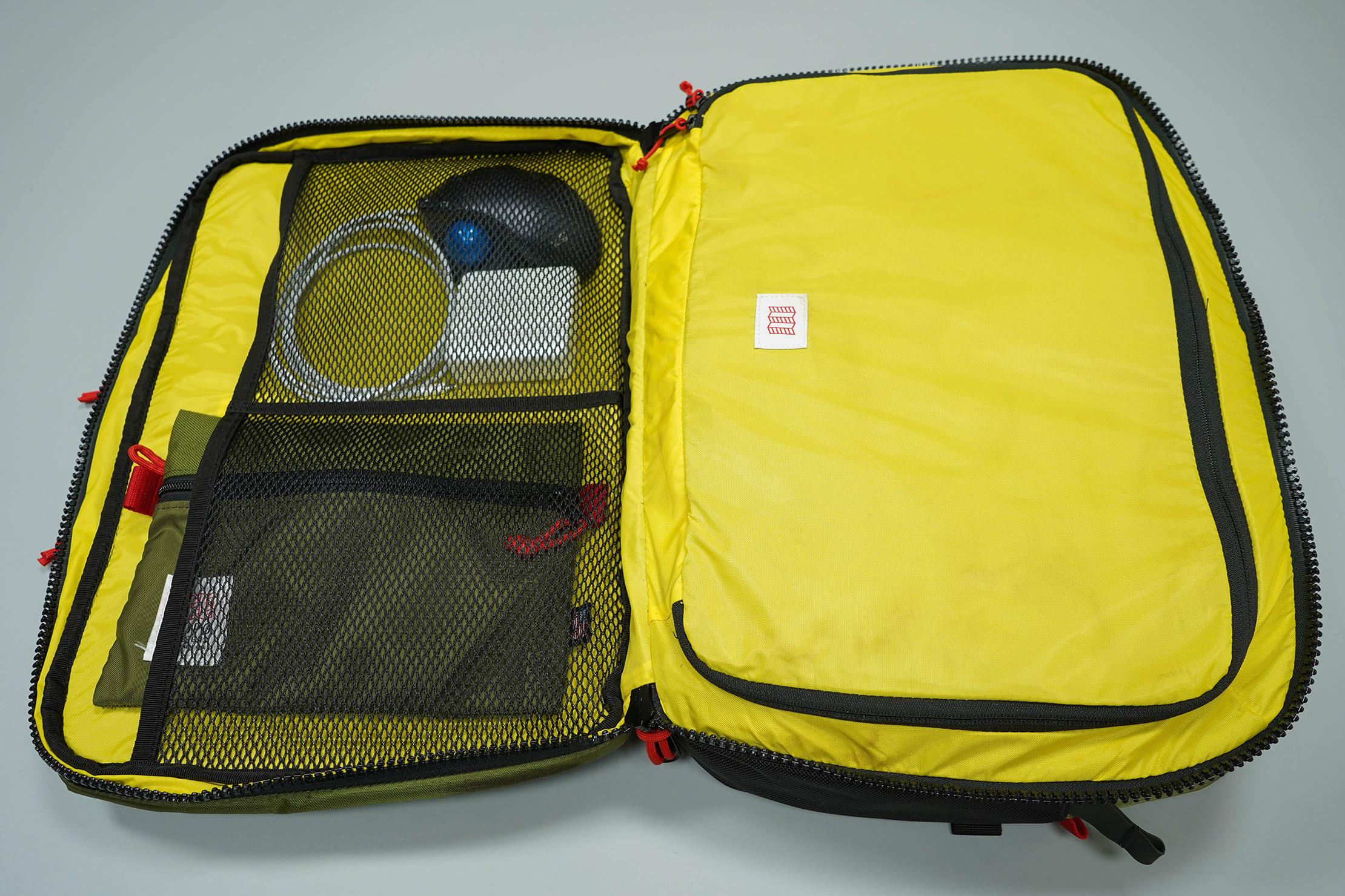 Topo Designs Global Briefcase 3-Day Main Open