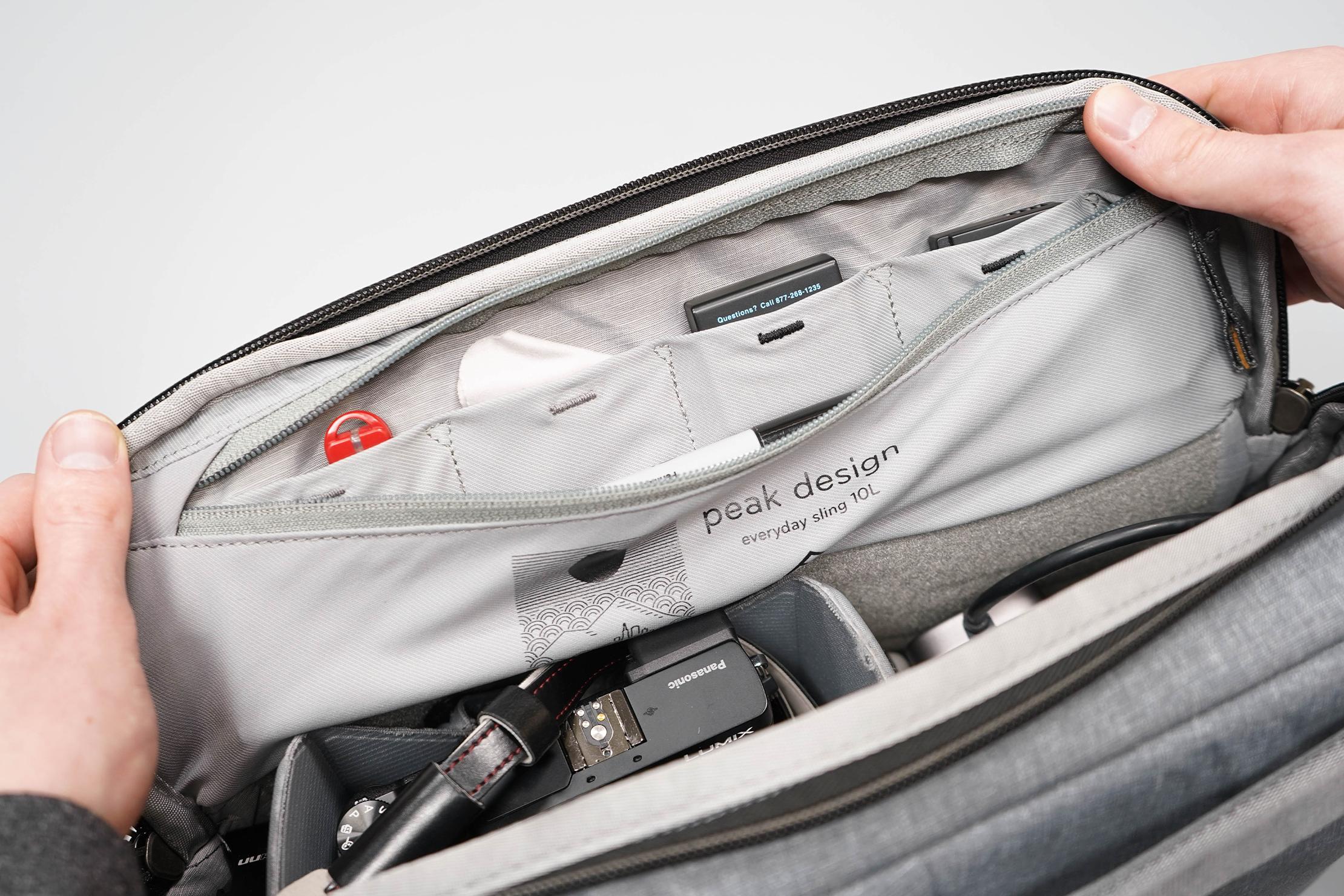 Peak Design Everyday Sling 10L V2 Zip Pocket
