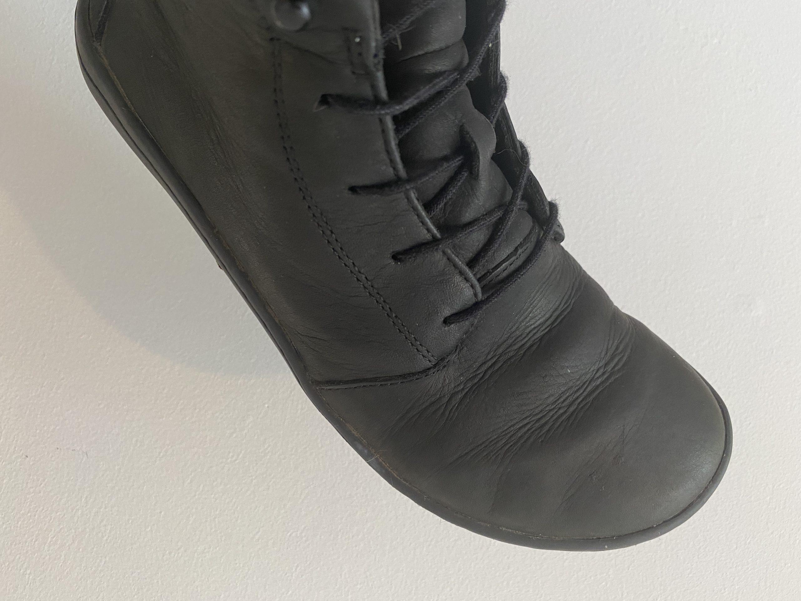 Vivobarefoot Gobi Hi III Shoes Leather Creasing