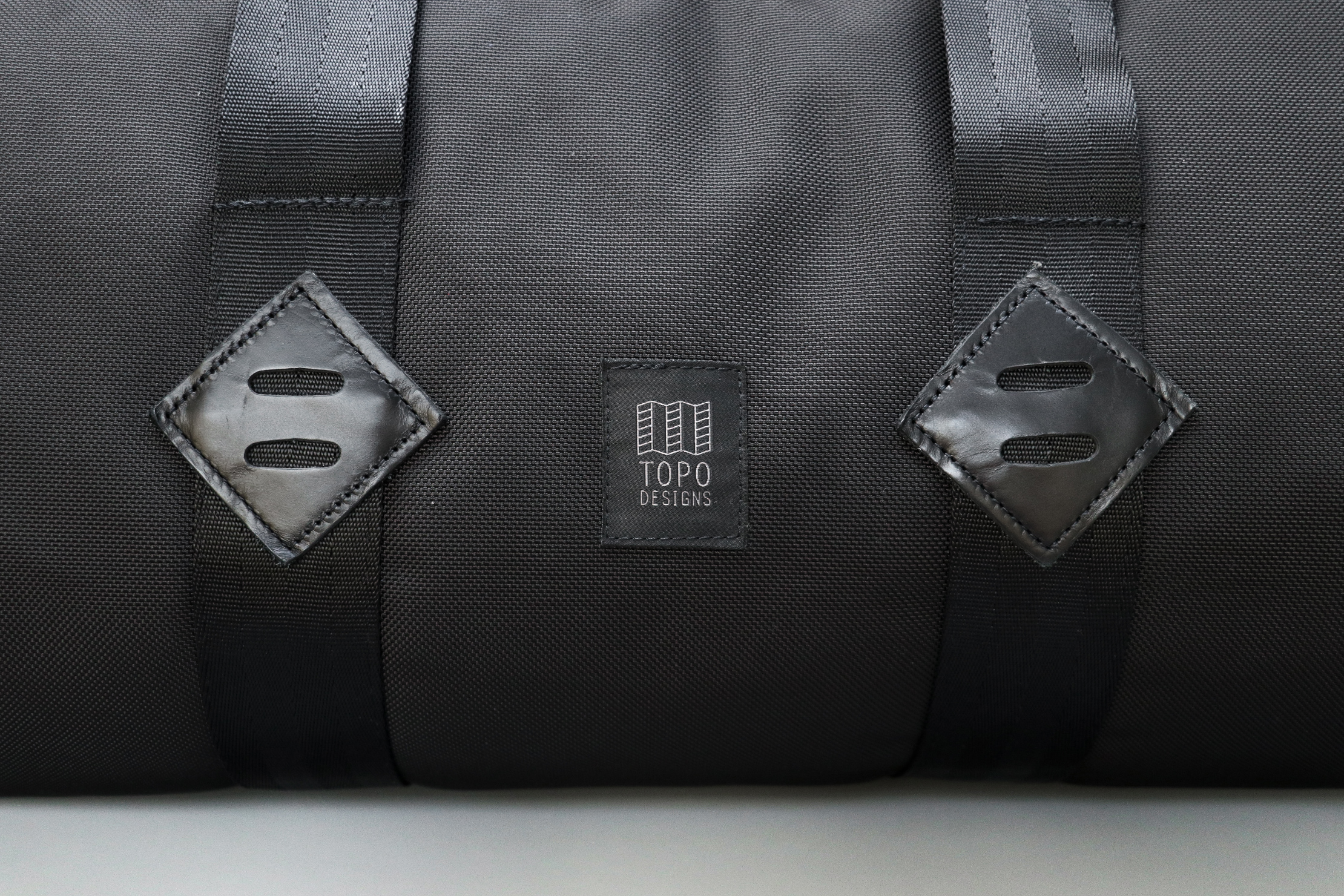 Topo Designs Classic Duffel Logo And Leather Accents
