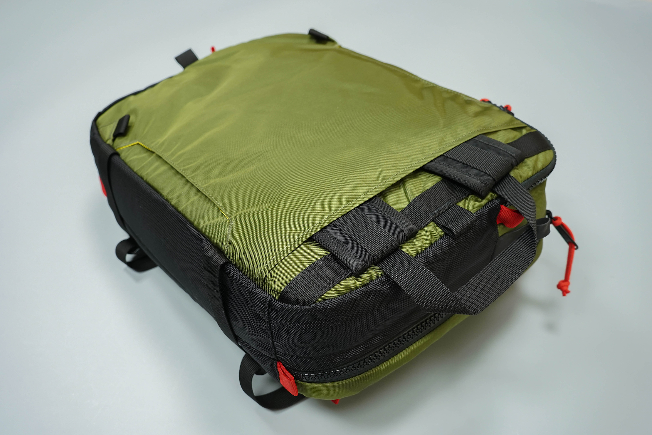 Topo Designs Global Briefcase 3-Day Back Panel