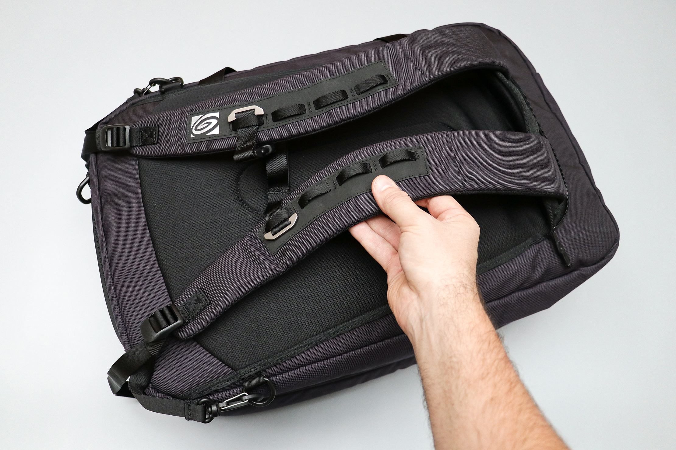 Timbuk2 Never Check Backpack Duffel Shoulder Straps