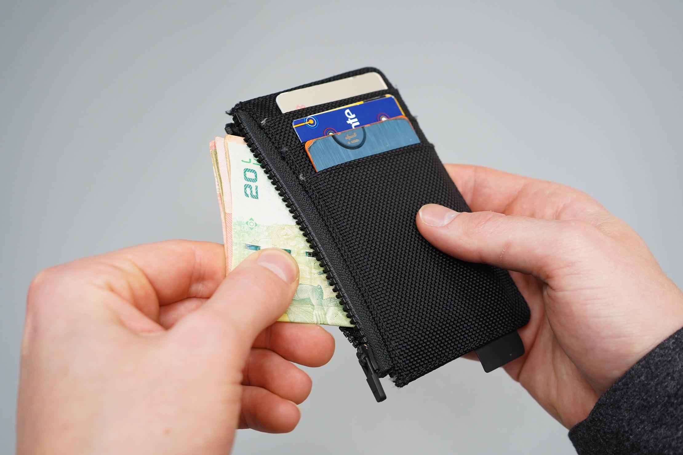 Aer Cardholder Zippered Pocket