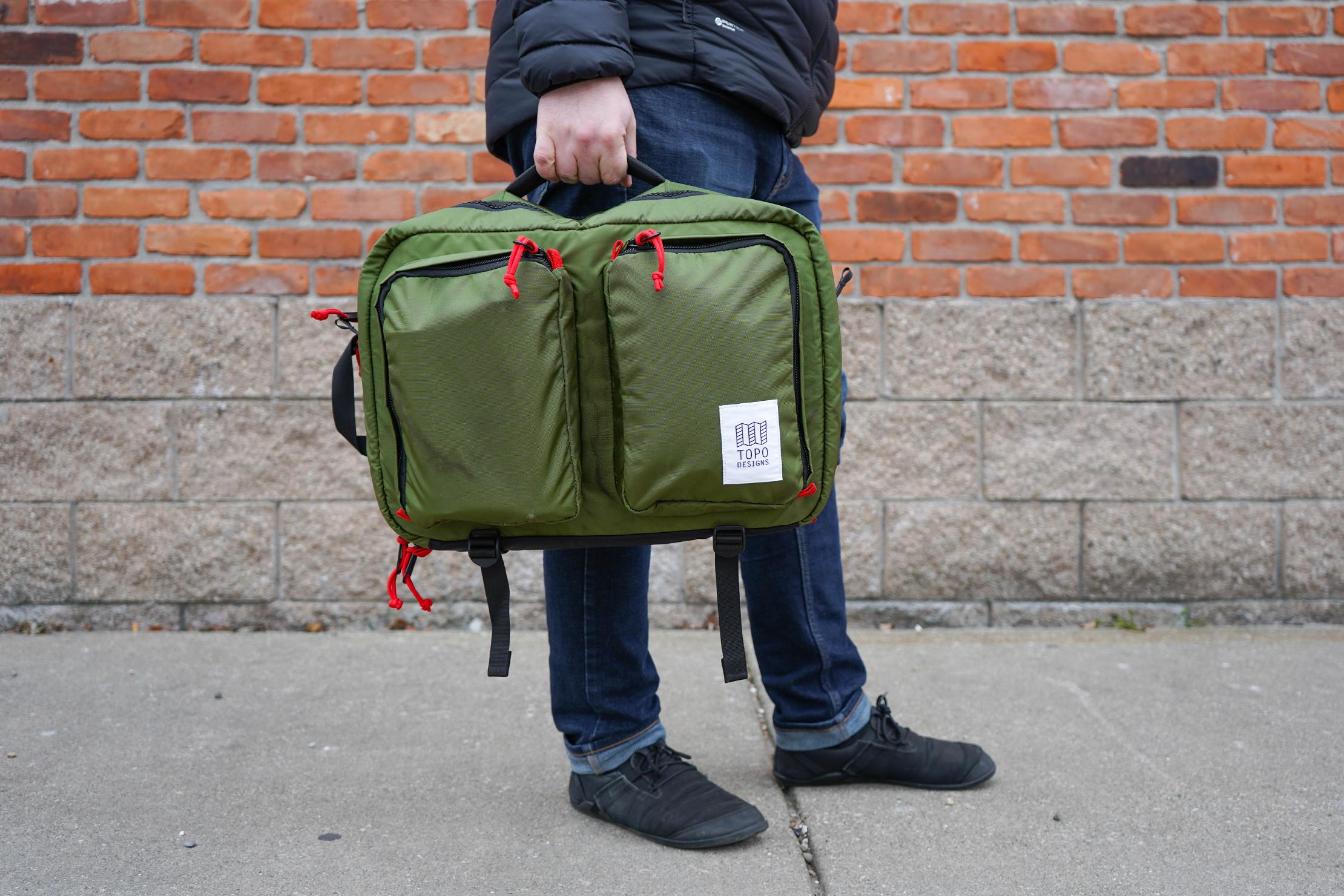 Topo Designs Global Briefcase 3-Day Briefcase Carry