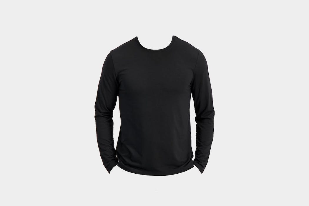 Bluffworks Threshold Performance Long Sleeve T-Shirt Slim Fit